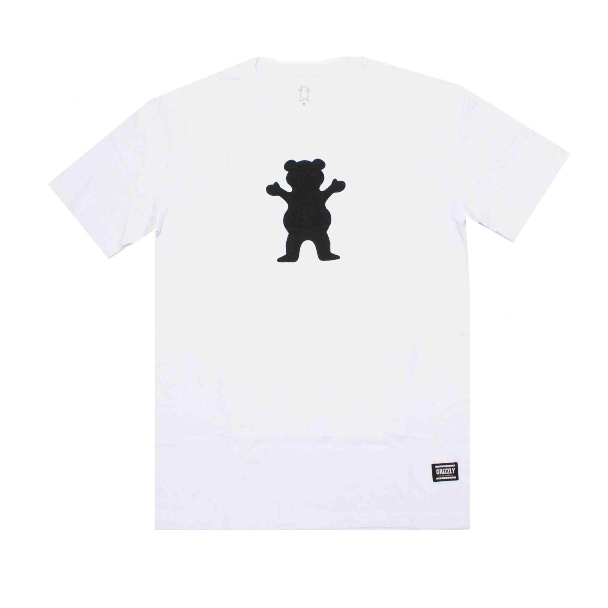 Camiseta Grizzly Og Bear Logo White