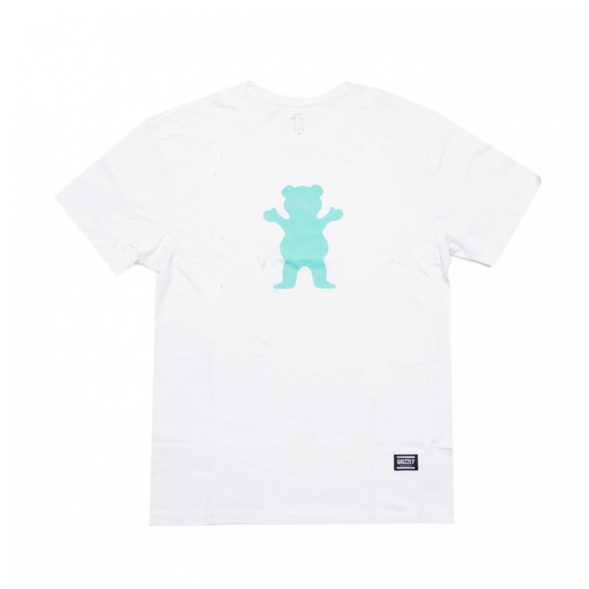 Camiseta Grizzly  Og Bear S/S Tee - Branco