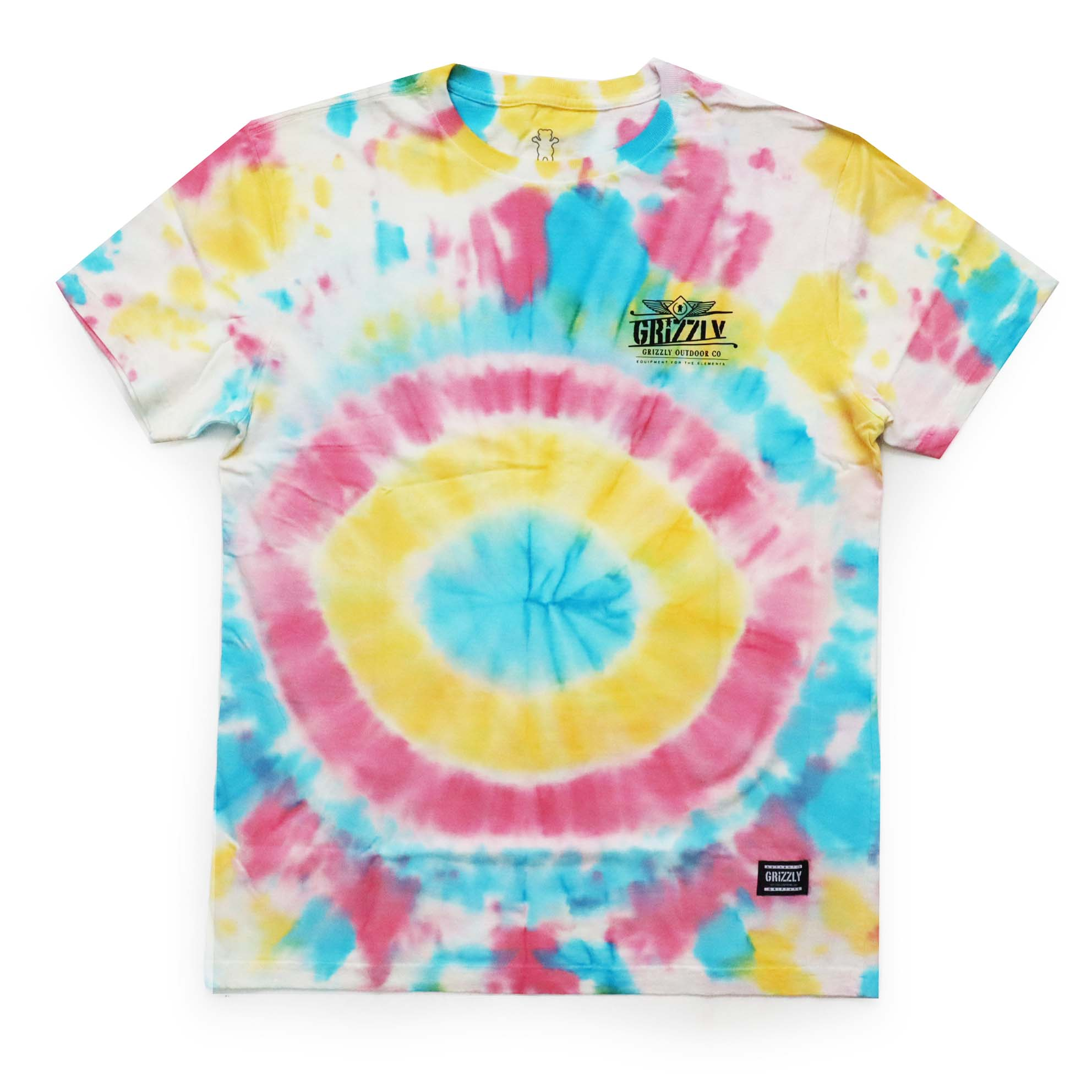 Camiseta Grizzly Outdoor Equip - Tie Dye