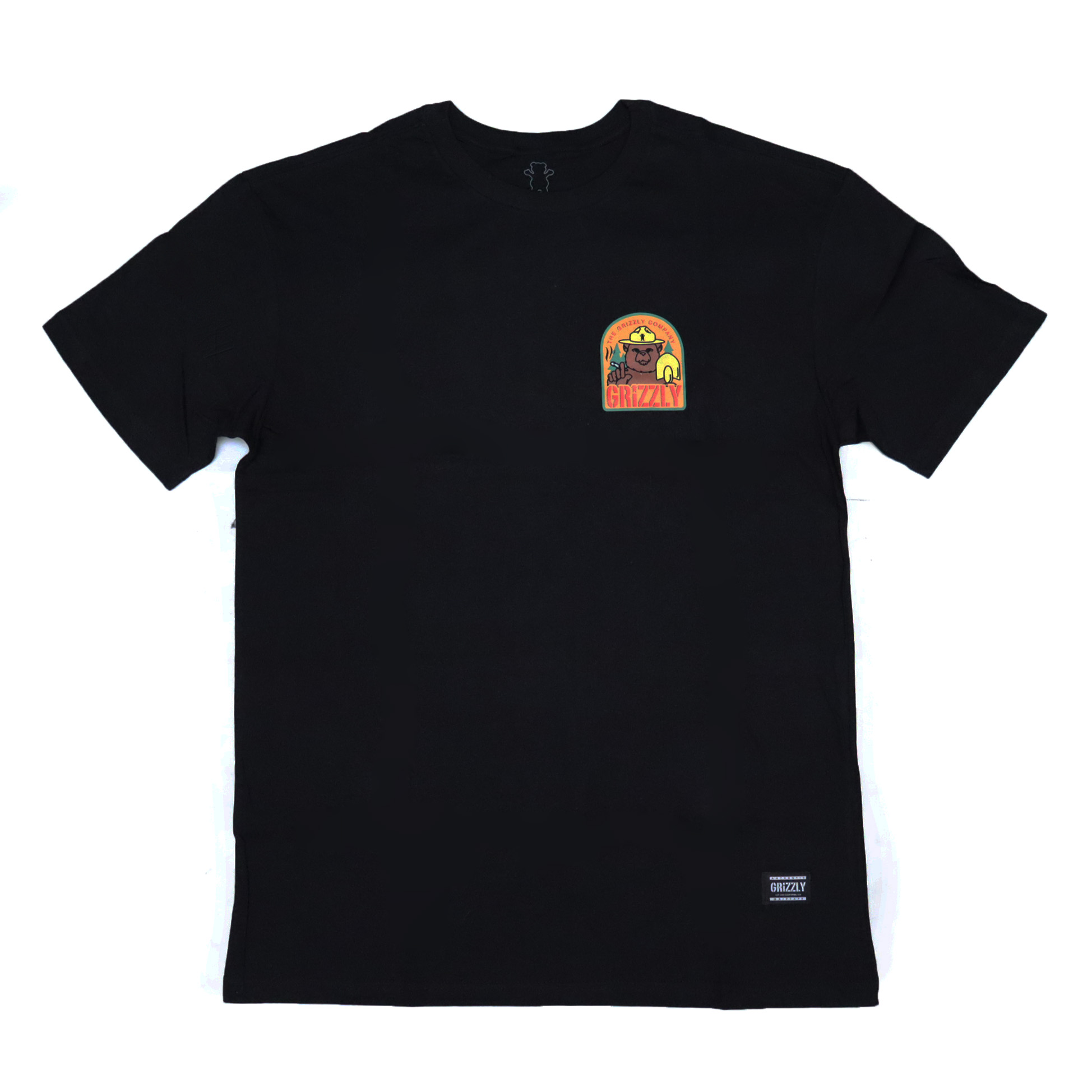 Camiseta Grizzly Prevention - Preto