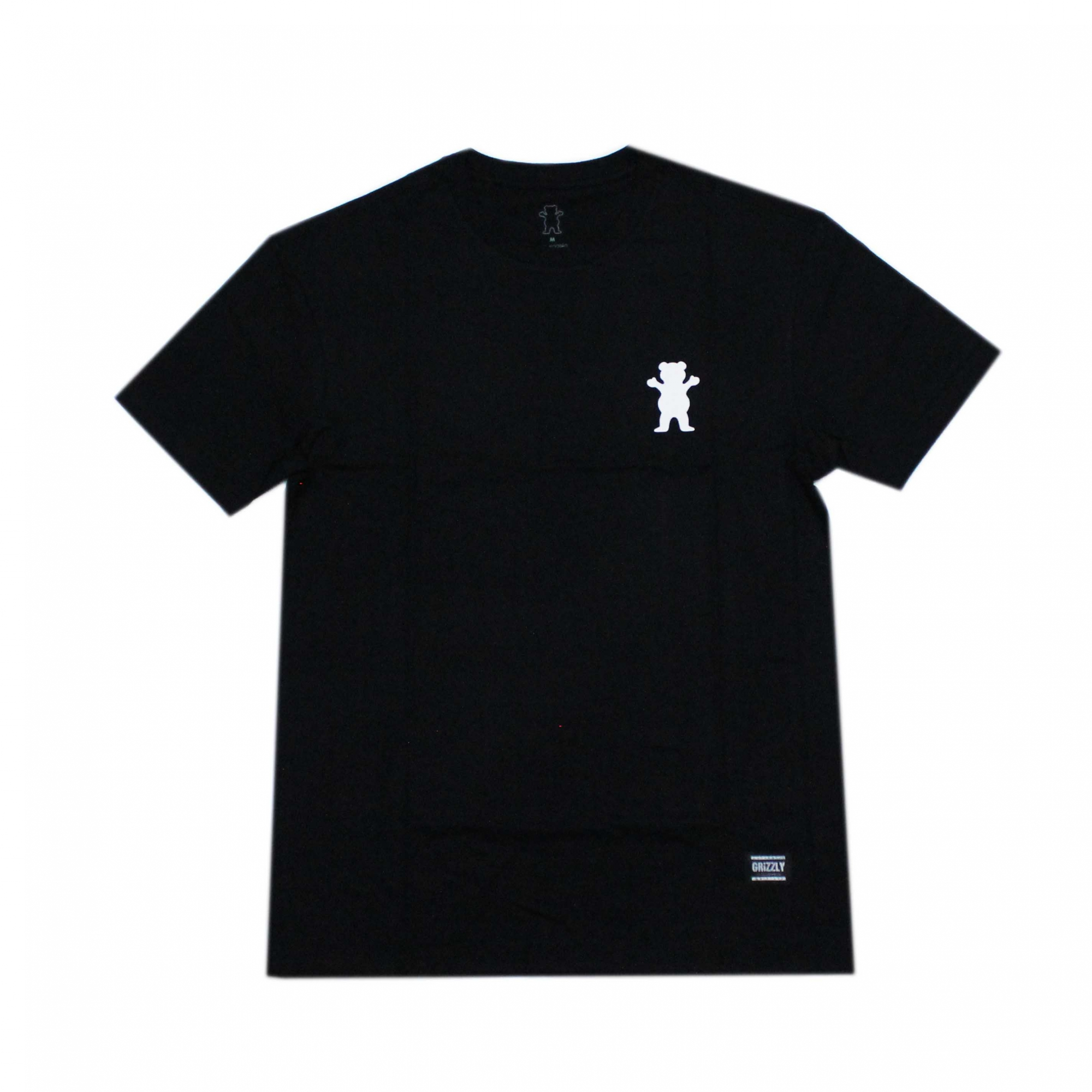 Camiseta Grizzly Stampback - Preto
