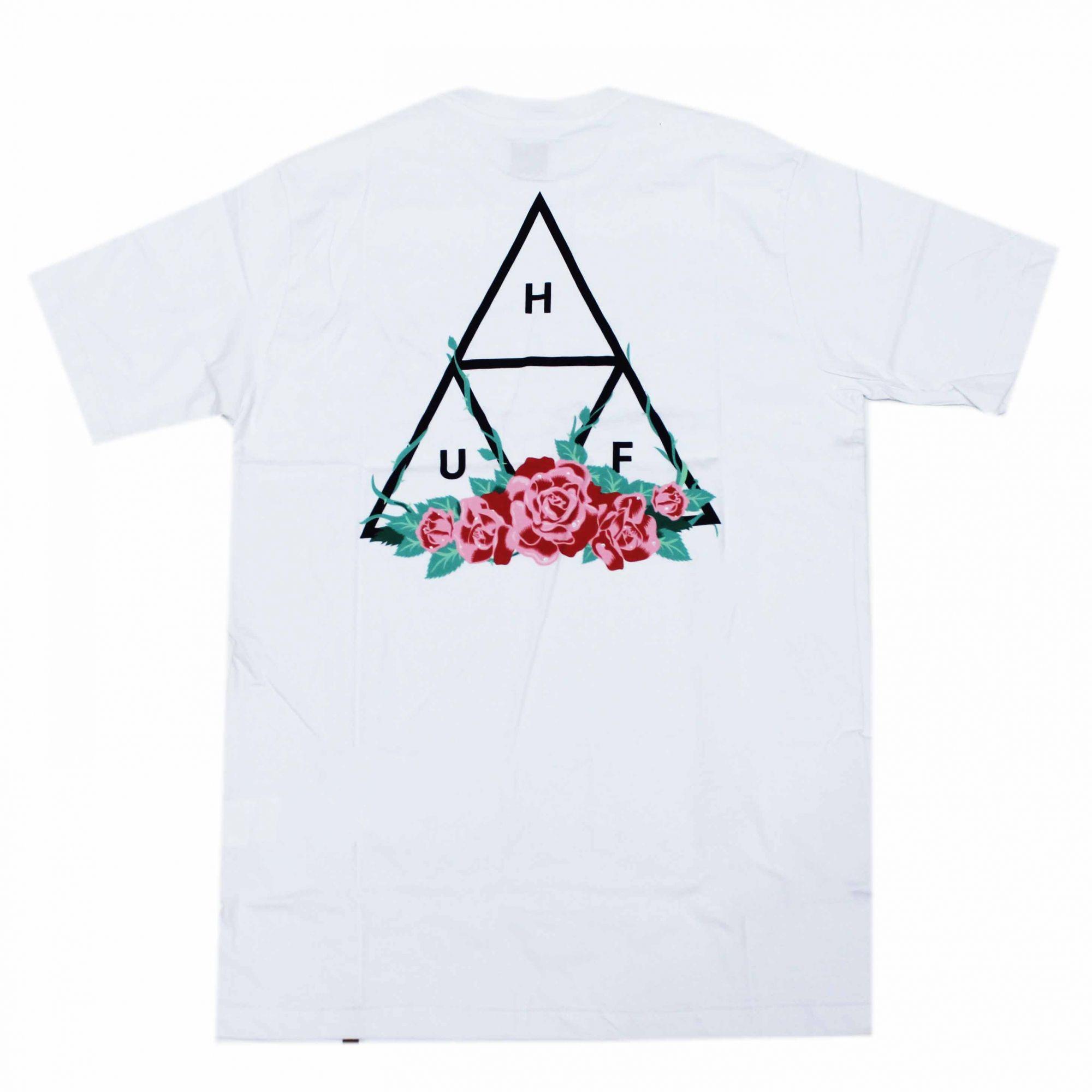 Camiseta HUF City Rose - Branco