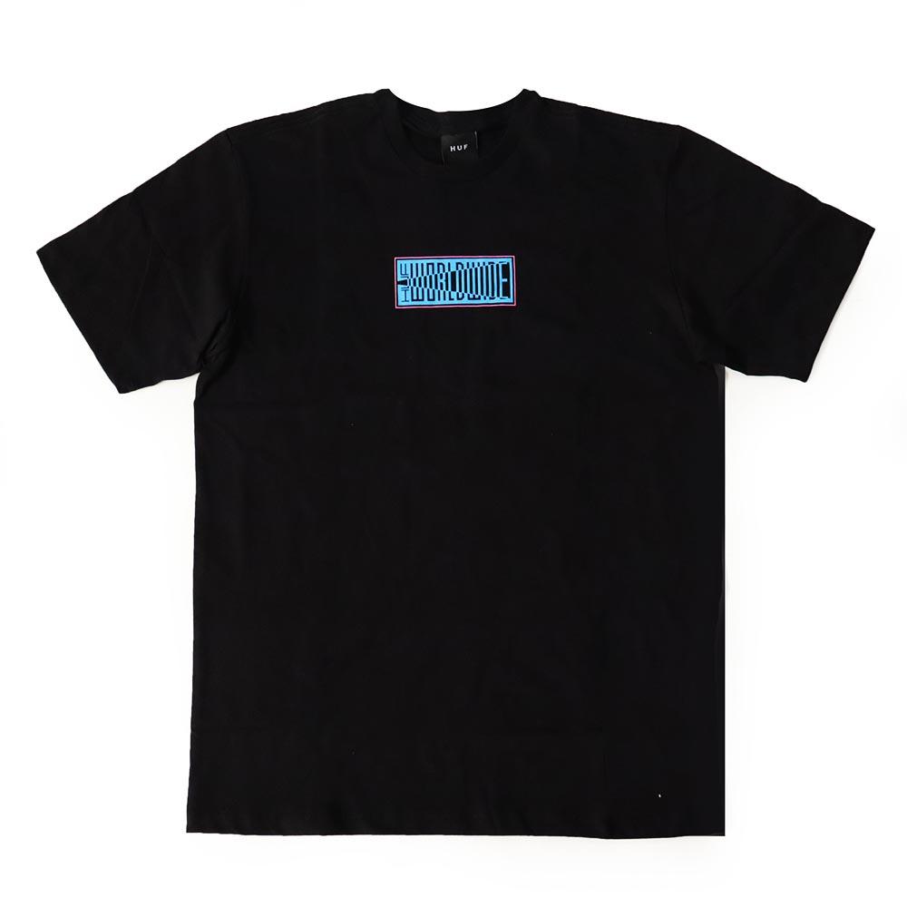 Camiseta HUF Deja Vu - Preto