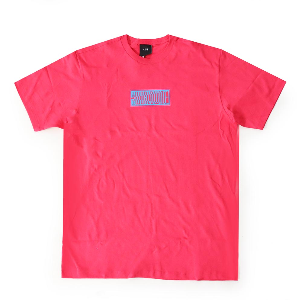 Camiseta HUF Deja Vu - Rosa