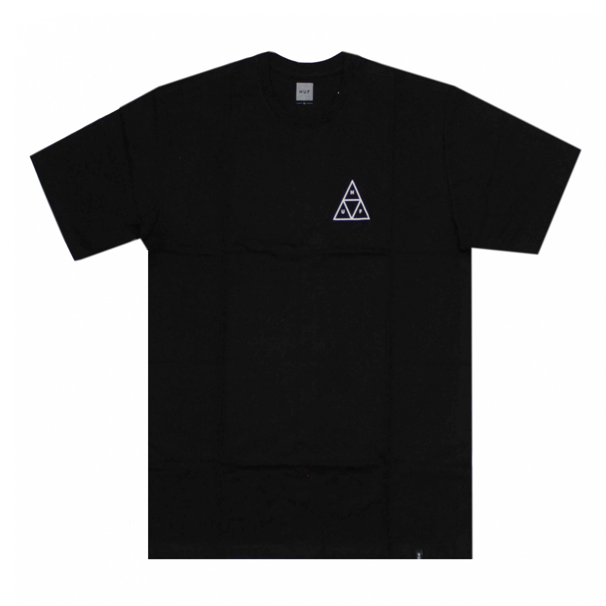 Camiseta HUF Essentials TT  Preto