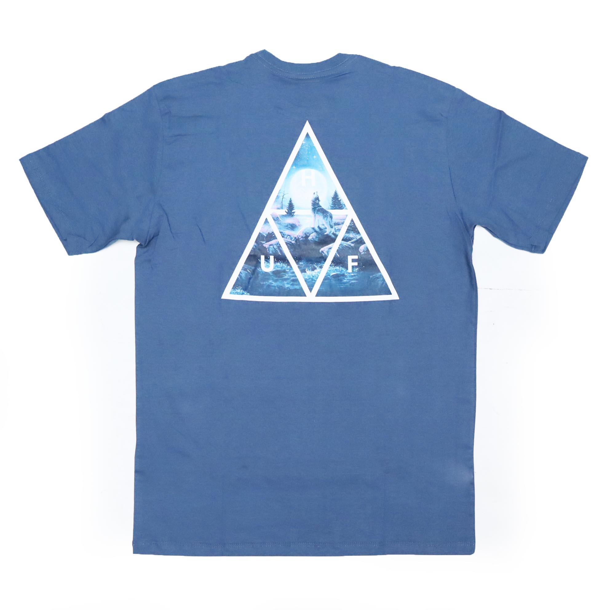 Camiseta HUF Lupus Noctem - Azul Marinho
