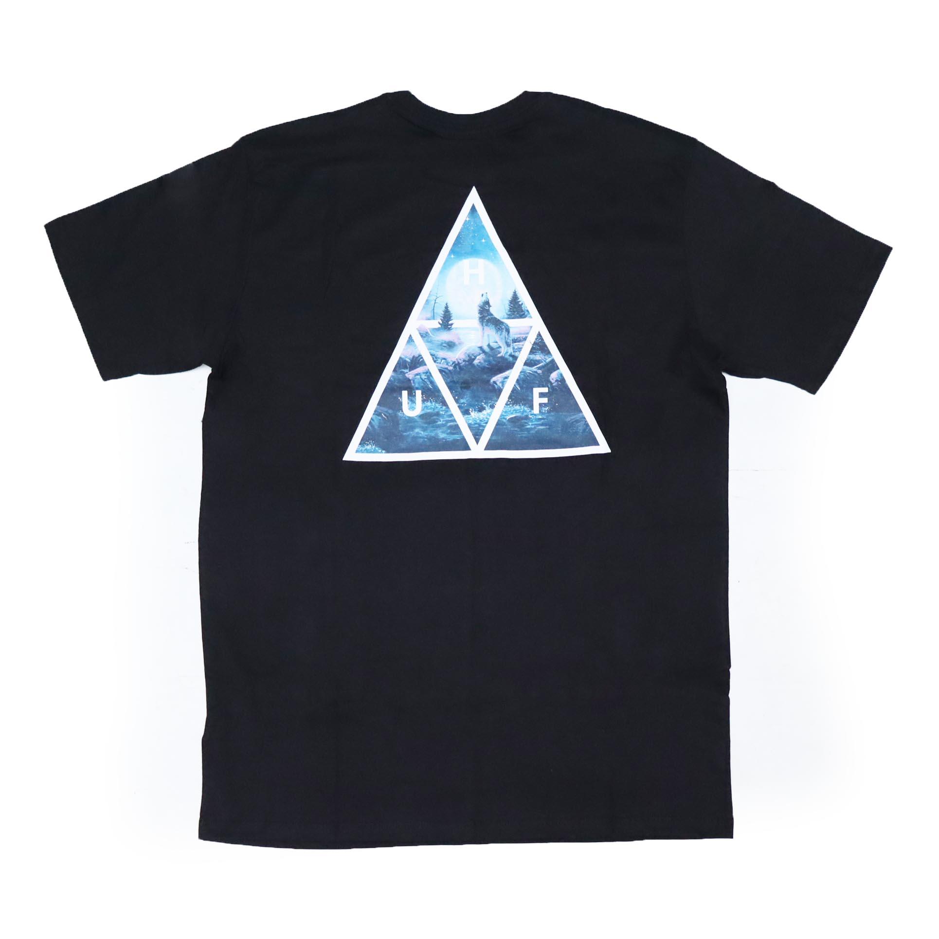 Camiseta HUF Lupus Noctem - Preto