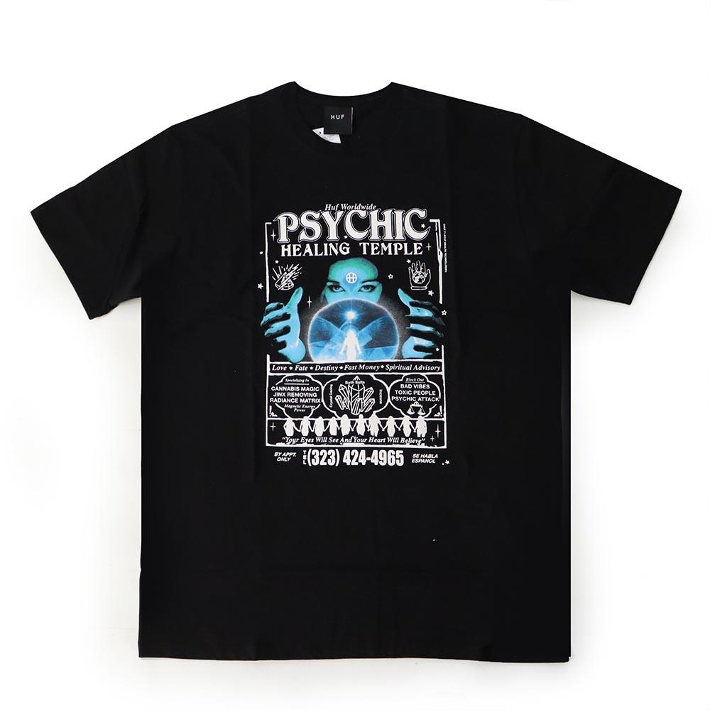 Camiseta HUF Psychic - Preto