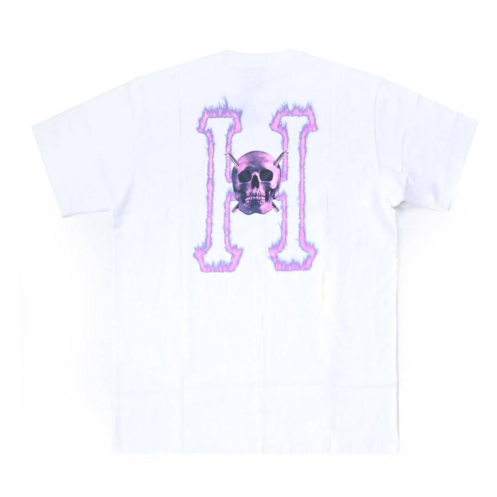 Camiseta HUF SS Crew Headclassic  - Branco