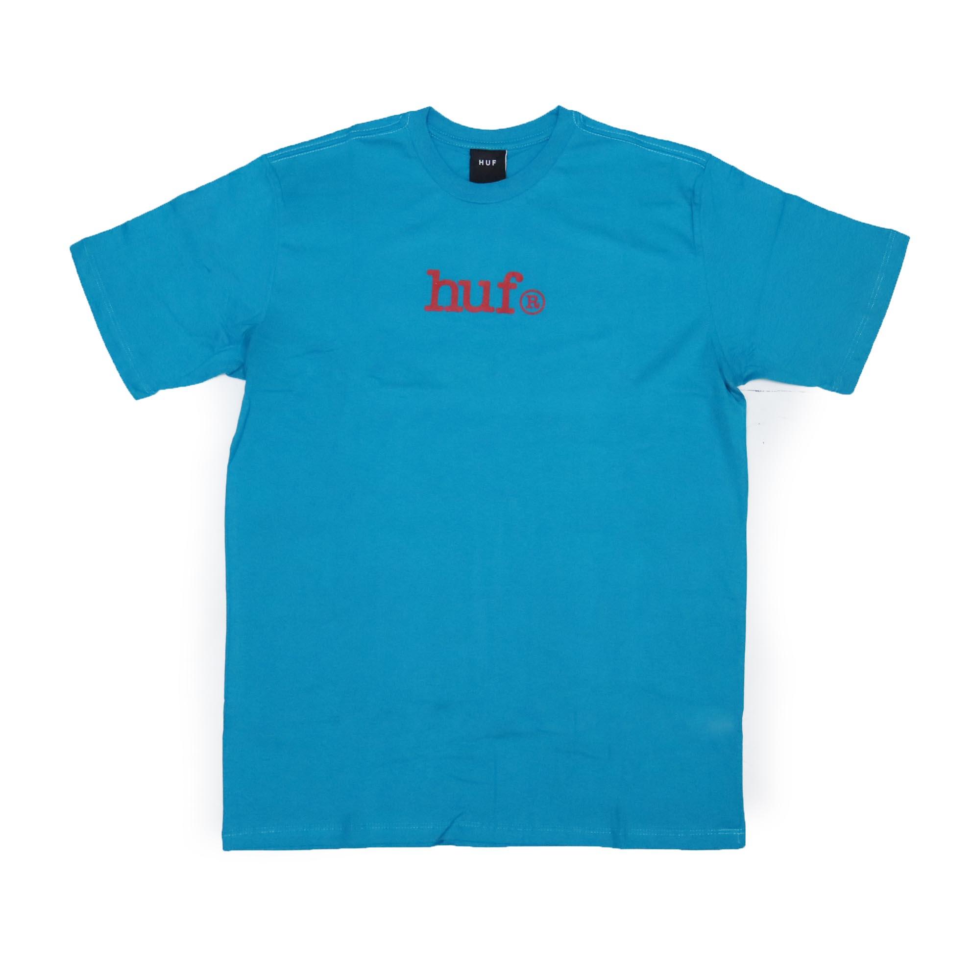 Camiseta HUF Type - Azul Turqueza
