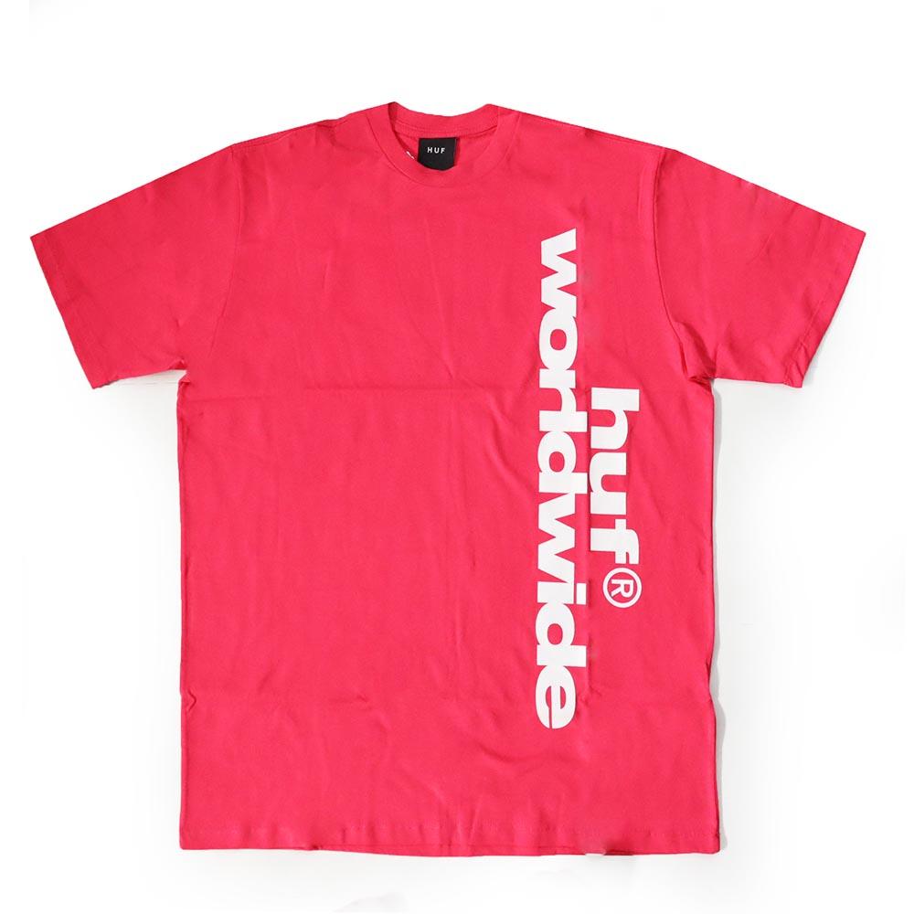 Camiseta HUF Untitled - Rosa Pink