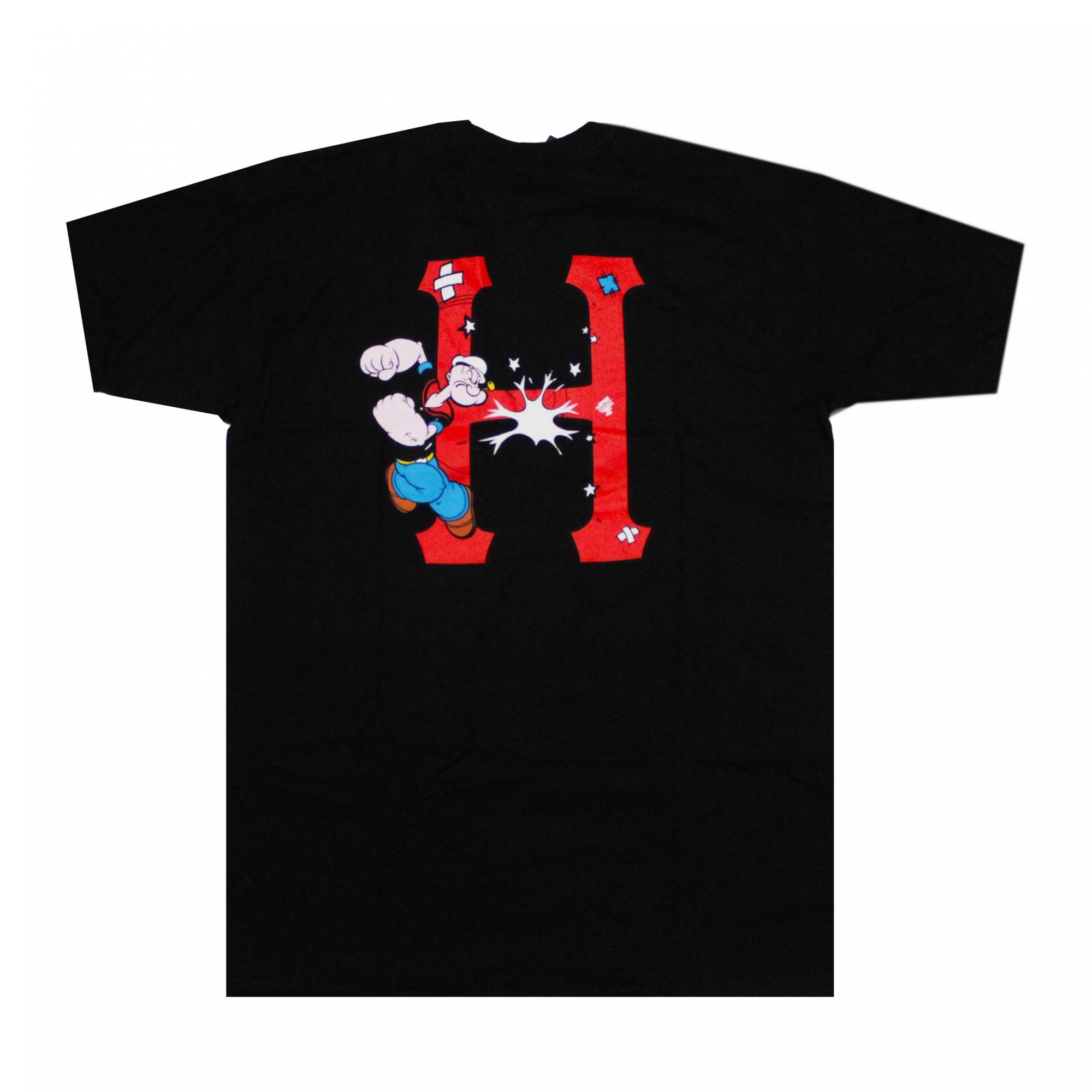 Camiseta HUF x Popeye Classic - Preto (Importado)