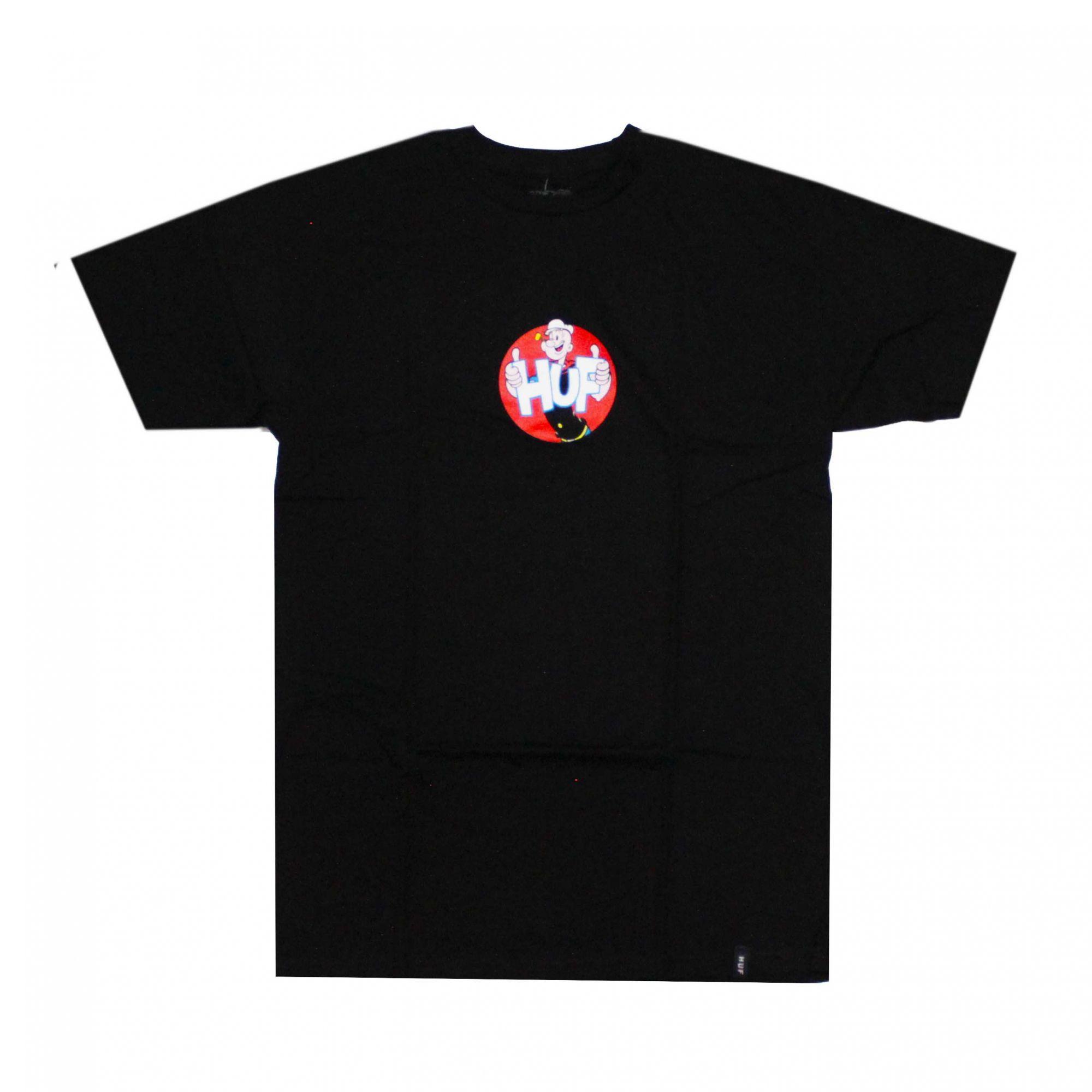 Camiseta HUF x Popeye Show Preto (Importado)