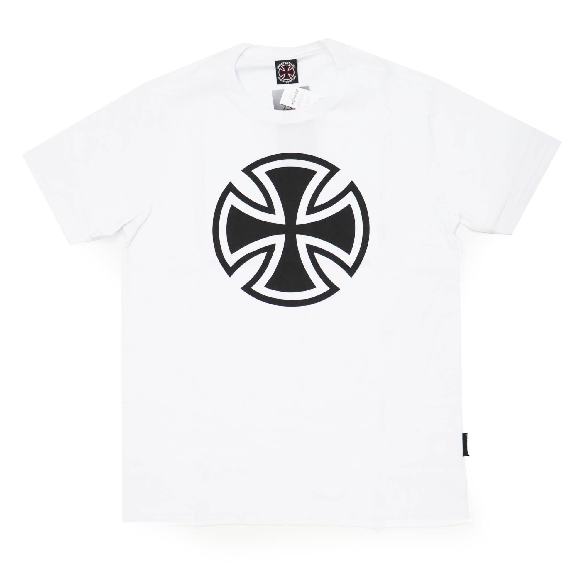 Camiseta Independent 3 Tier Cross 1 Color - Branco