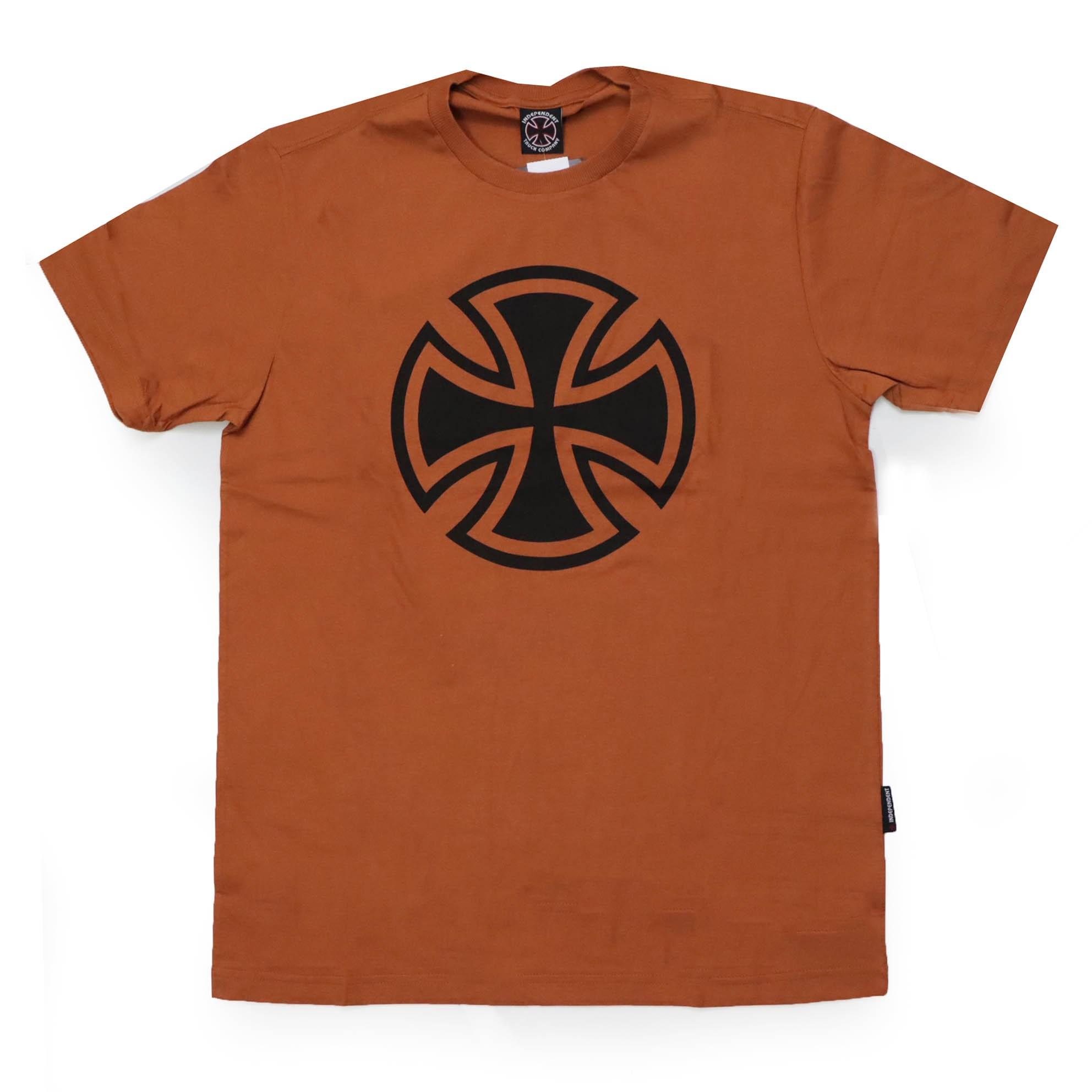 Camiseta Independent 3 Tier Cross 1 Color - Cobre
