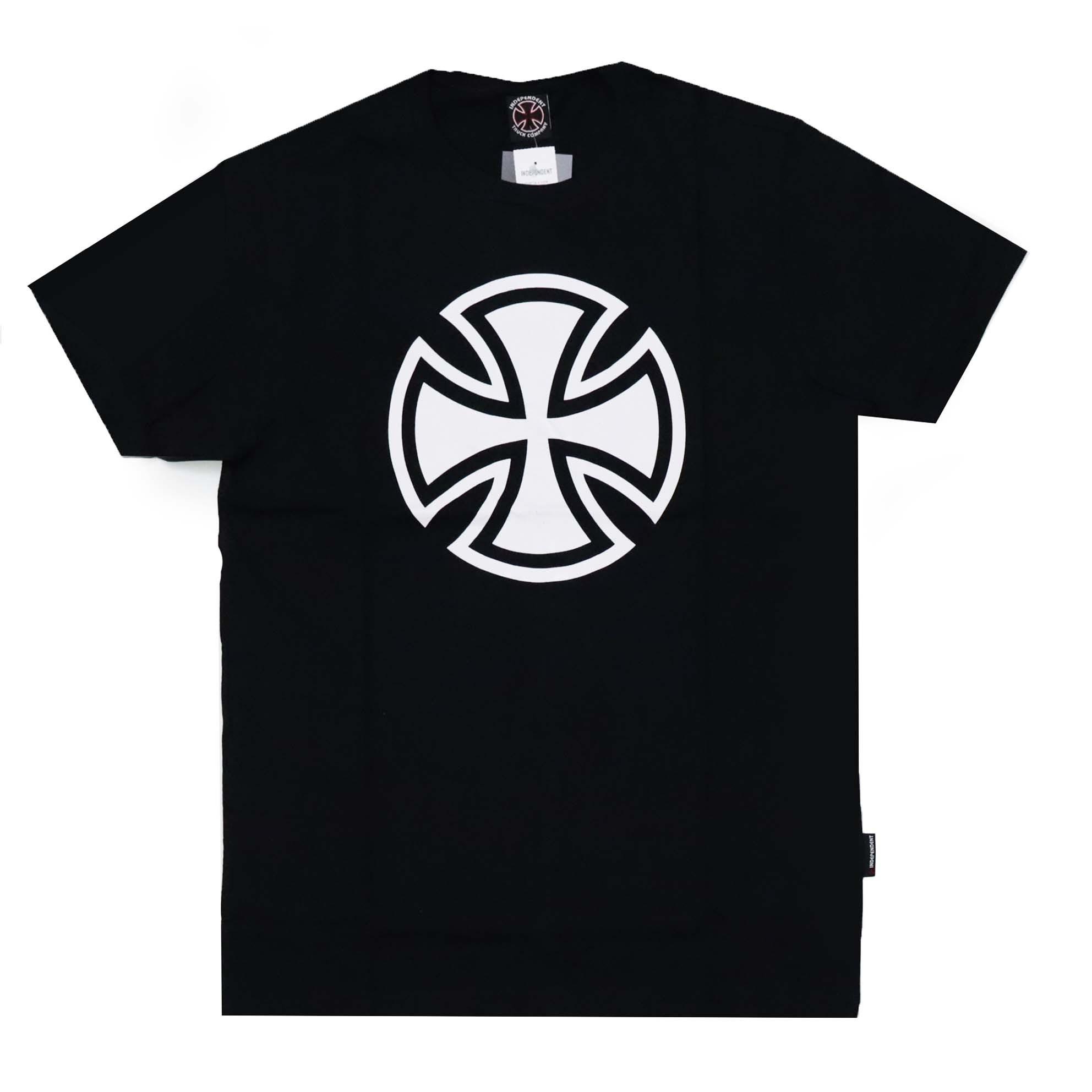 Camiseta Independent 3 Tier Cross 1 Color - Preto