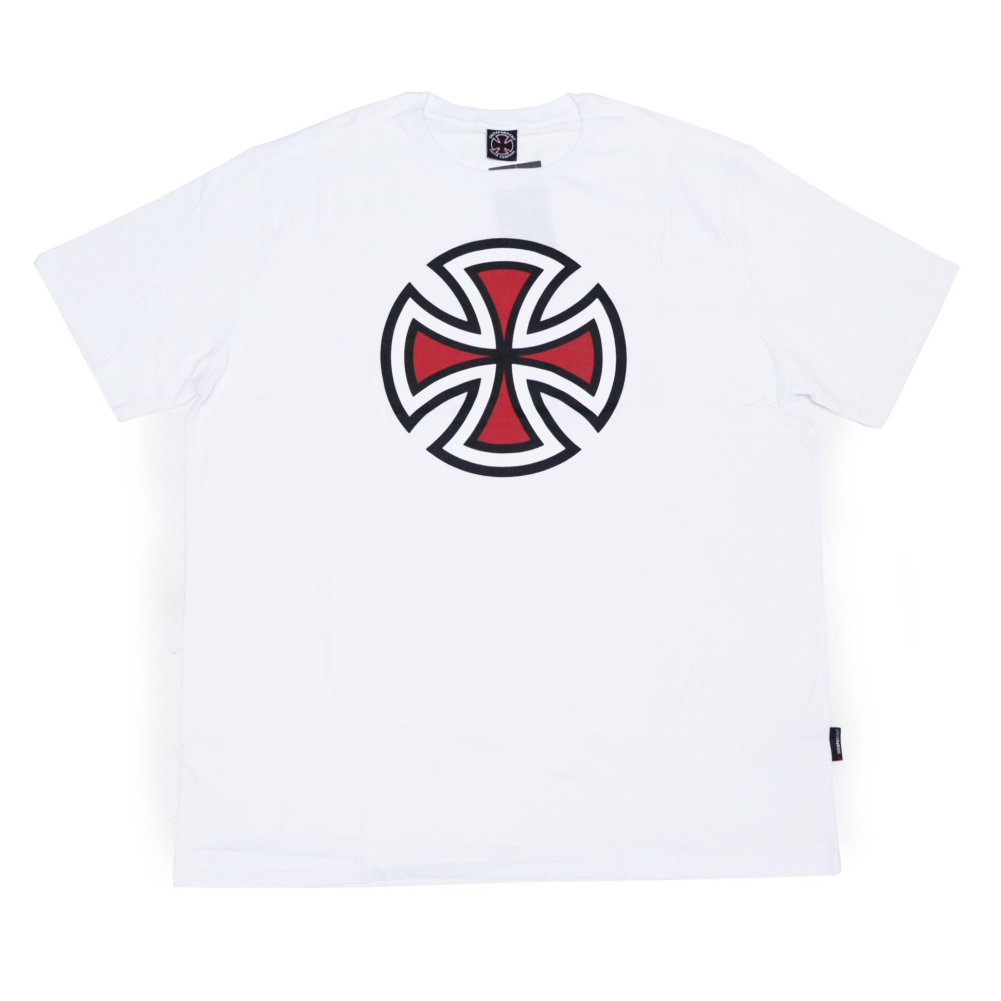 Camiseta Independent 4 Tier Cross 3 Color - Branco