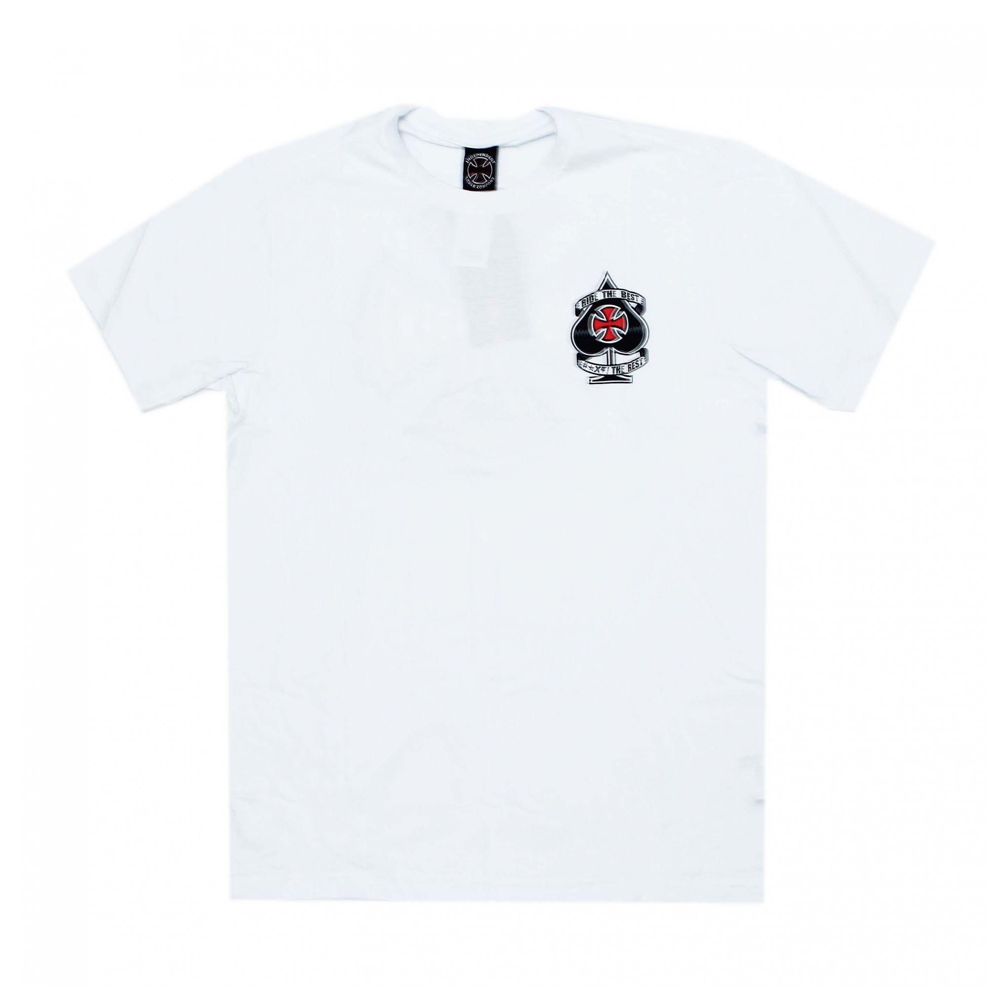 Camiseta Independent Ante Branco