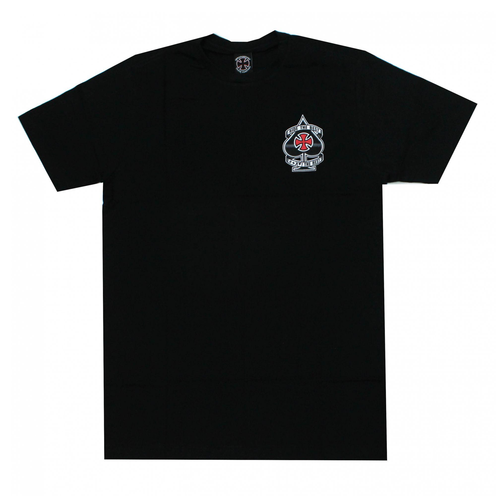 Camiseta Independent Ante - Preto
