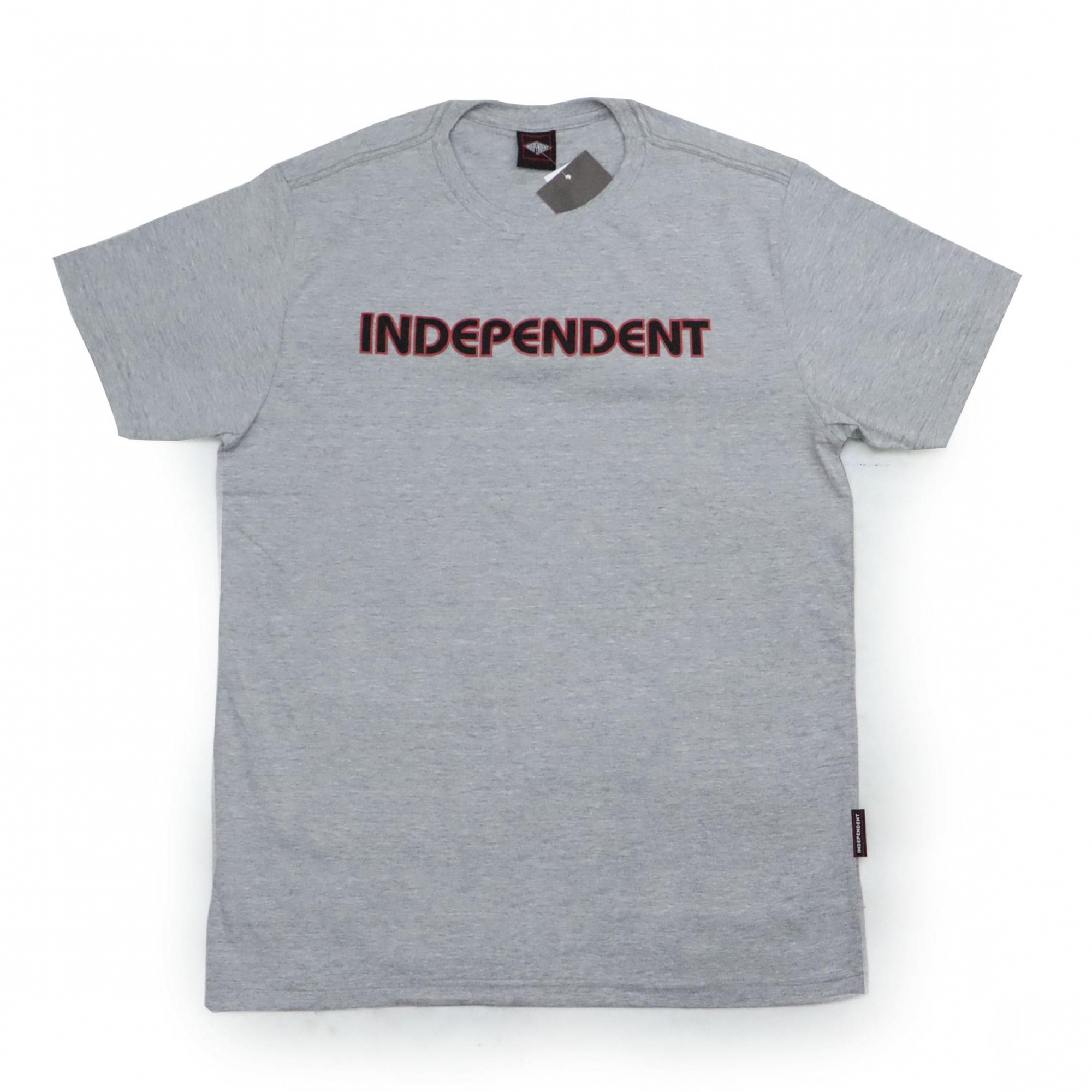 Camiseta Independent Bar Logo - Cinza Mescla