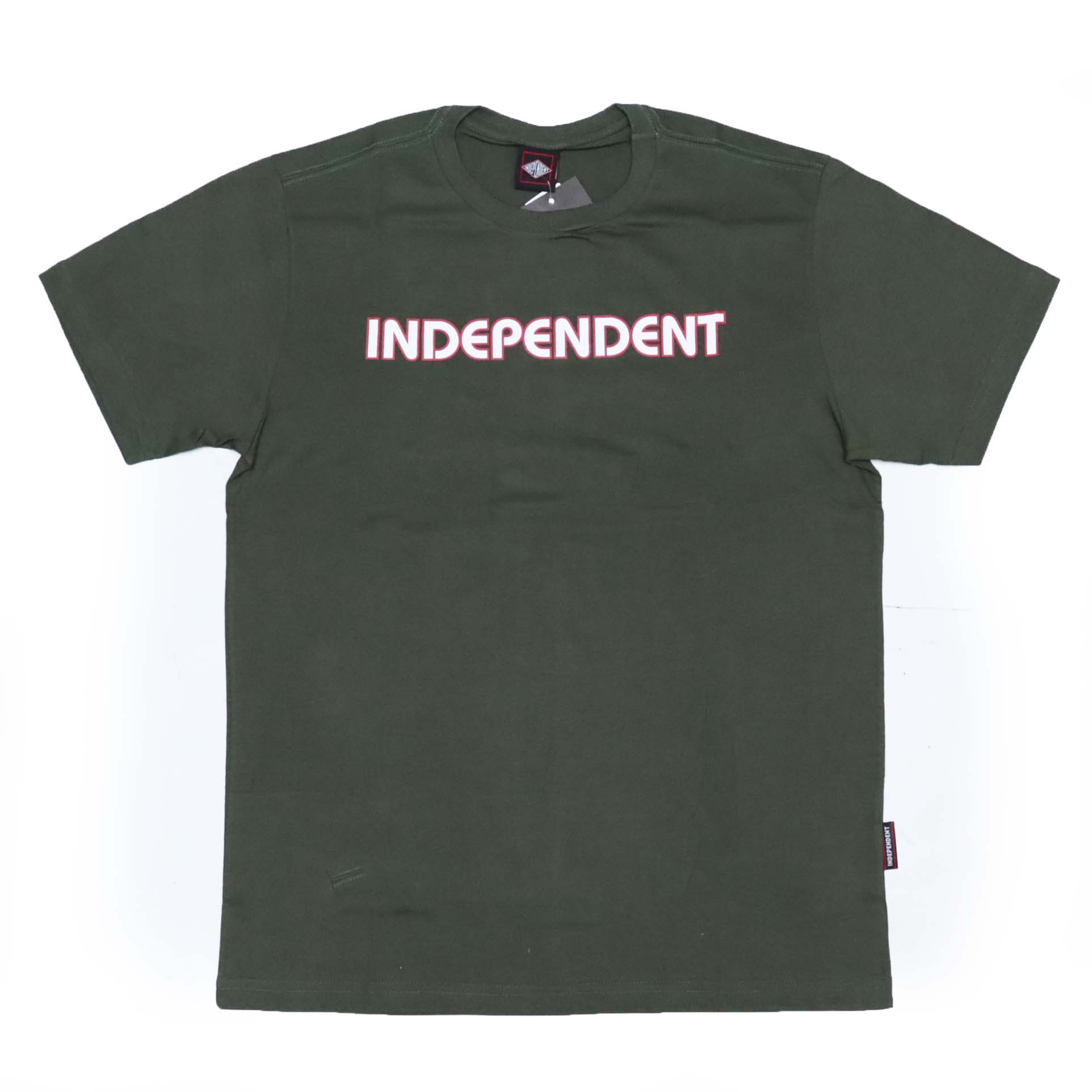 Camiseta Independent Bar Logo - Verde Militar