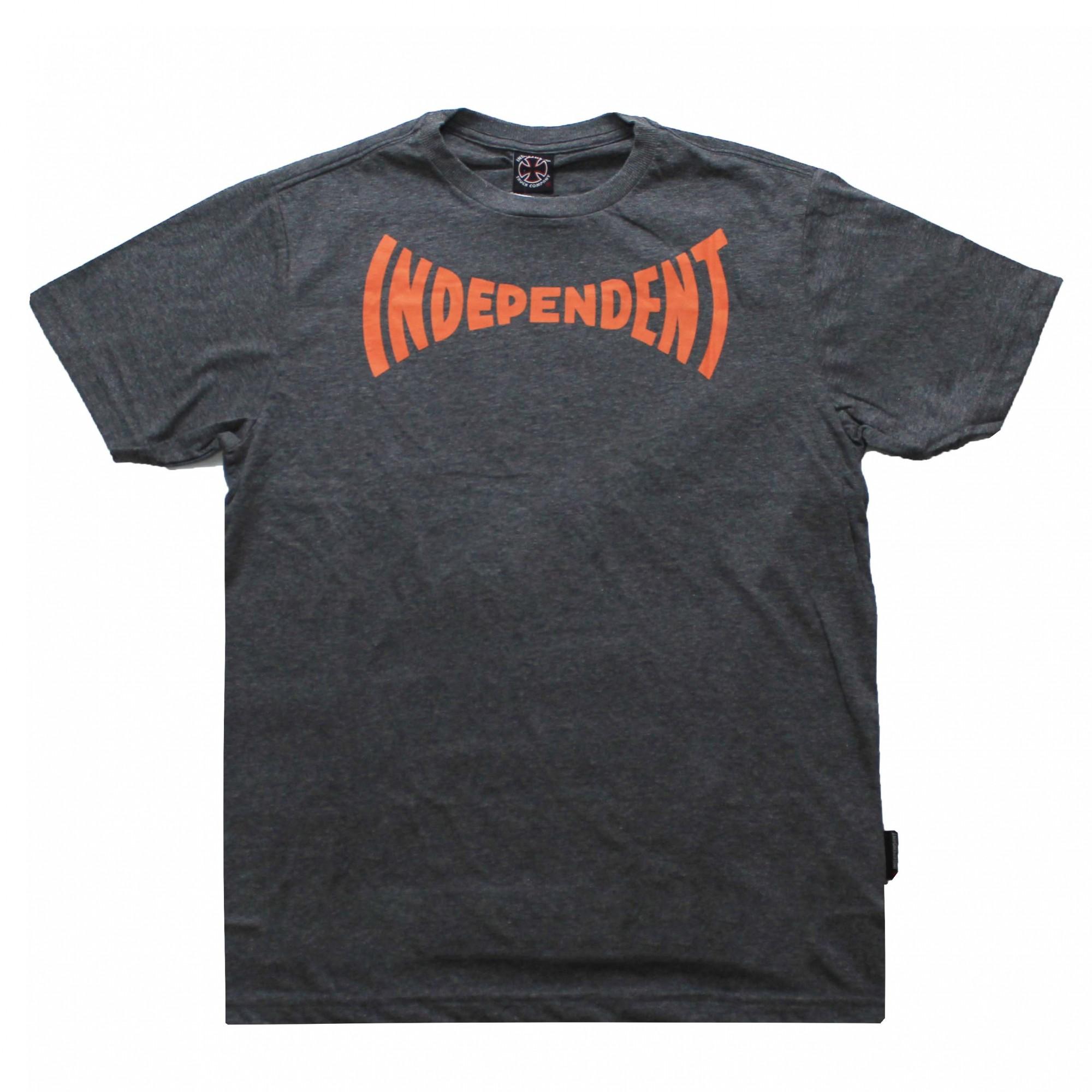 Camiseta Independent Chroma Chumbo Mescla