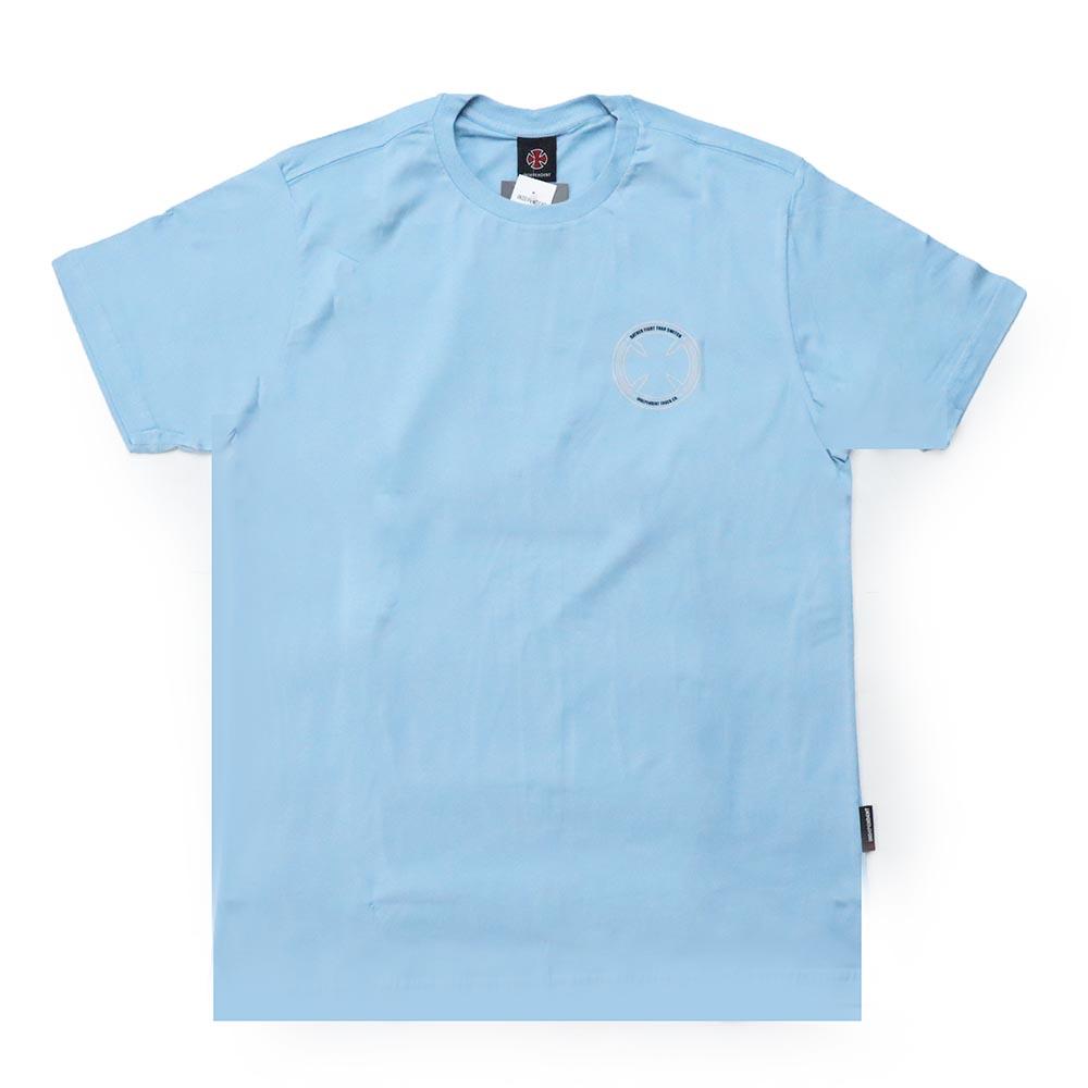 Camiseta Independent Fts Skull - Azul Claro