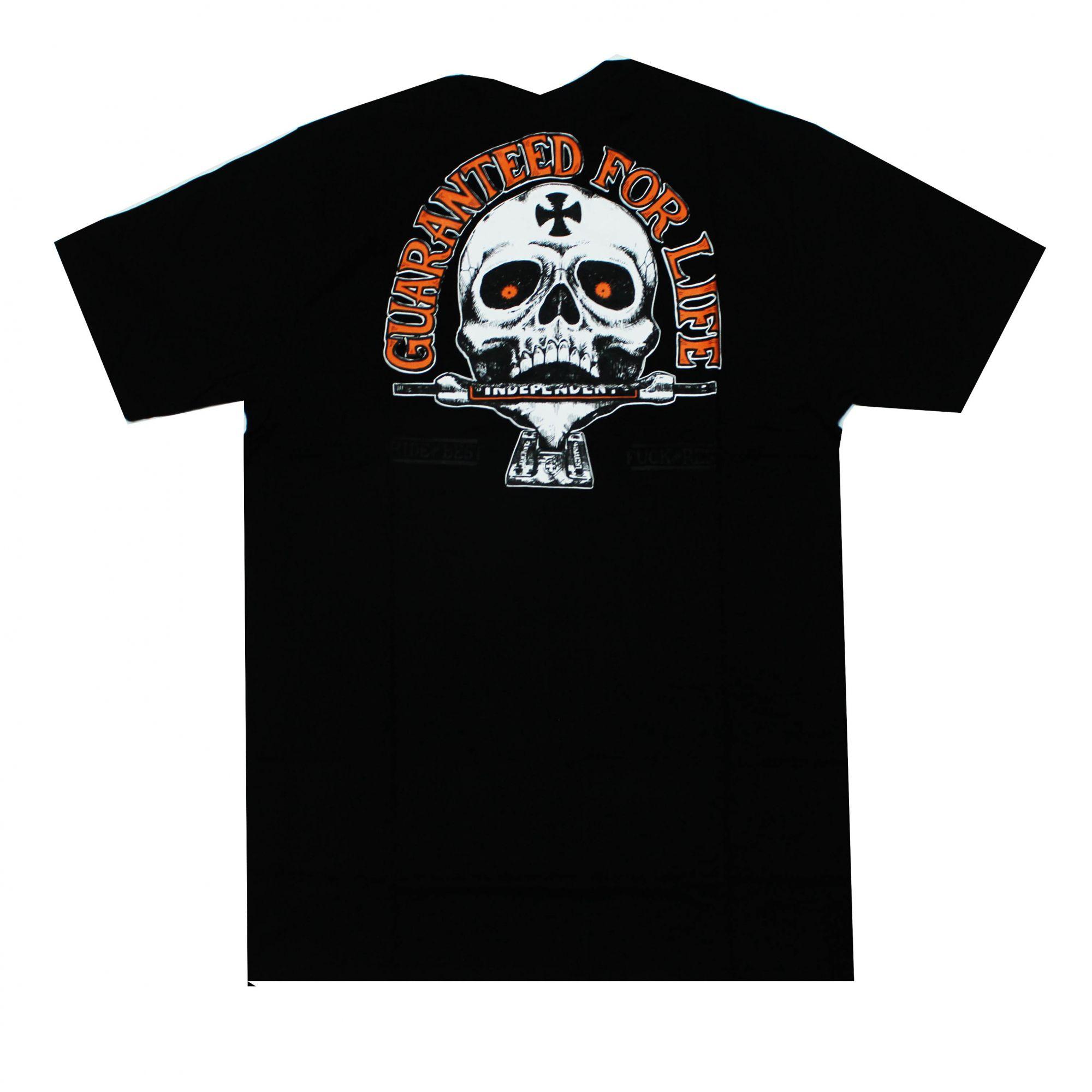Camiseta Independent Guaranteed Preto