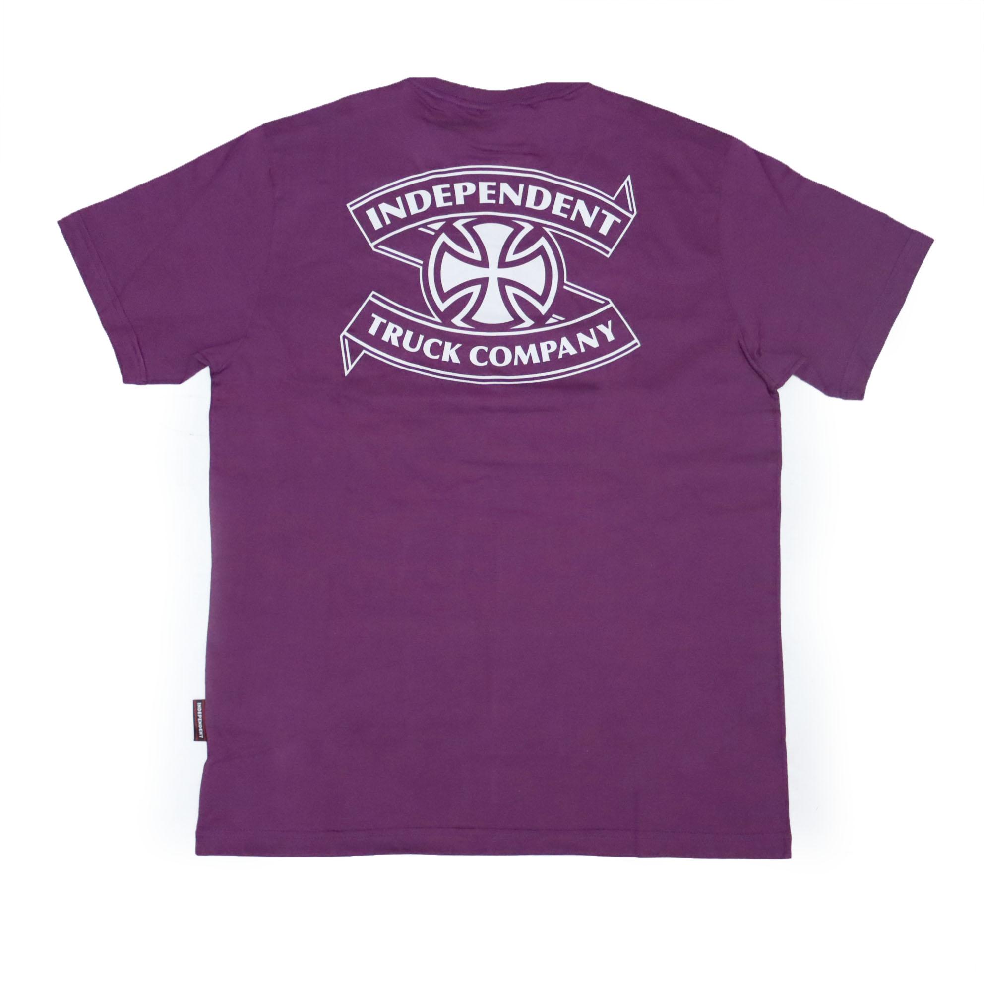Camiseta Independent ITC Ribbon - Roxo