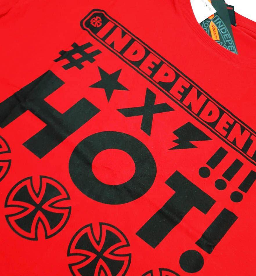 Camiseta Independent Muy Caliente Red