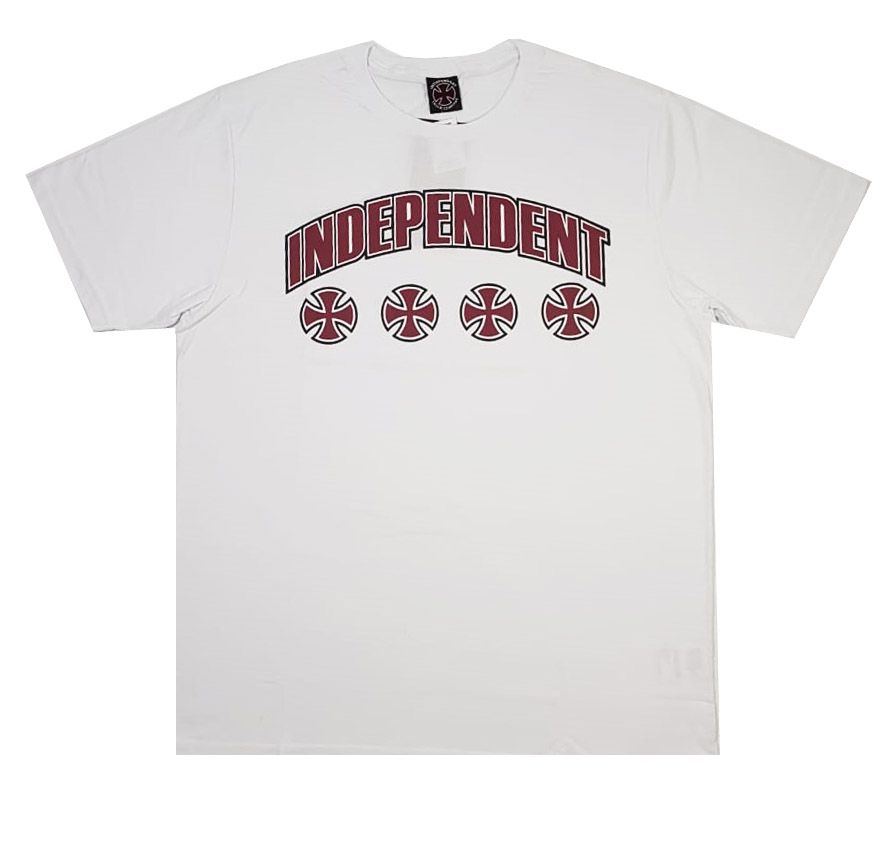 Camiseta Independent NBR Bar White