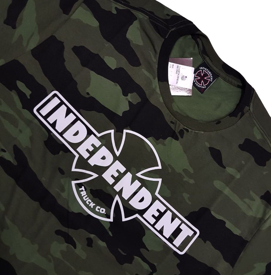 Camiseta Independent OG Camo