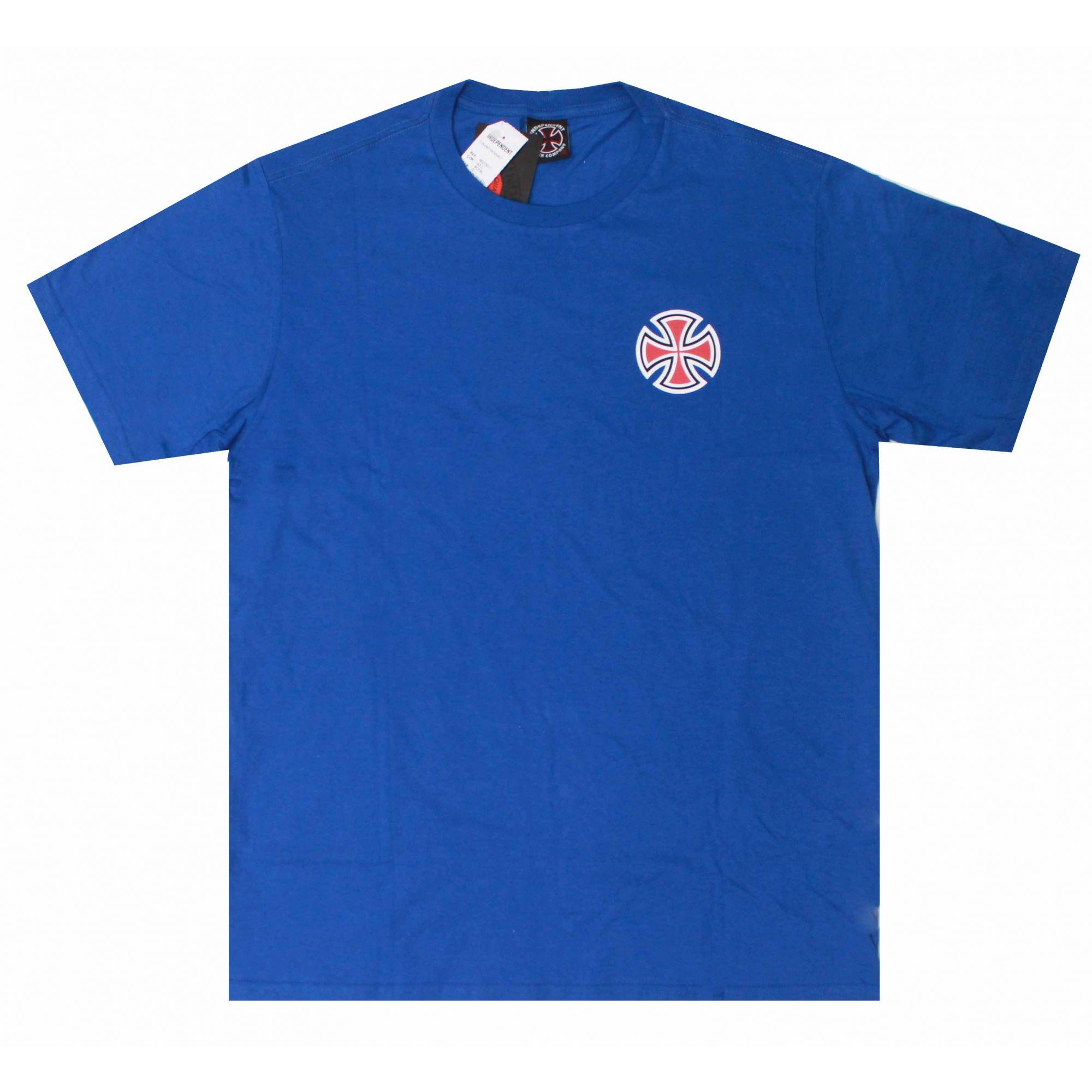 Camiseta Independent Pennant Azul
