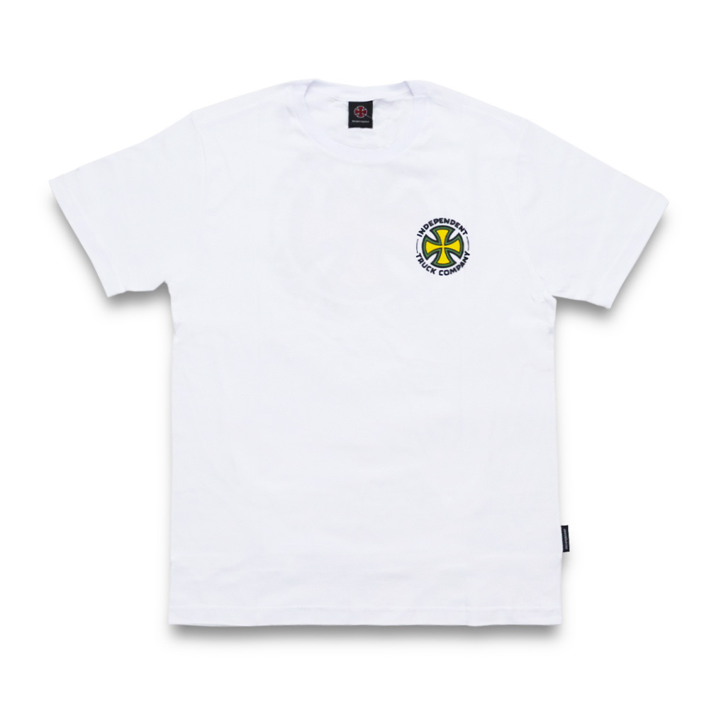 Camiseta Independent Repeat Cross - Branco
