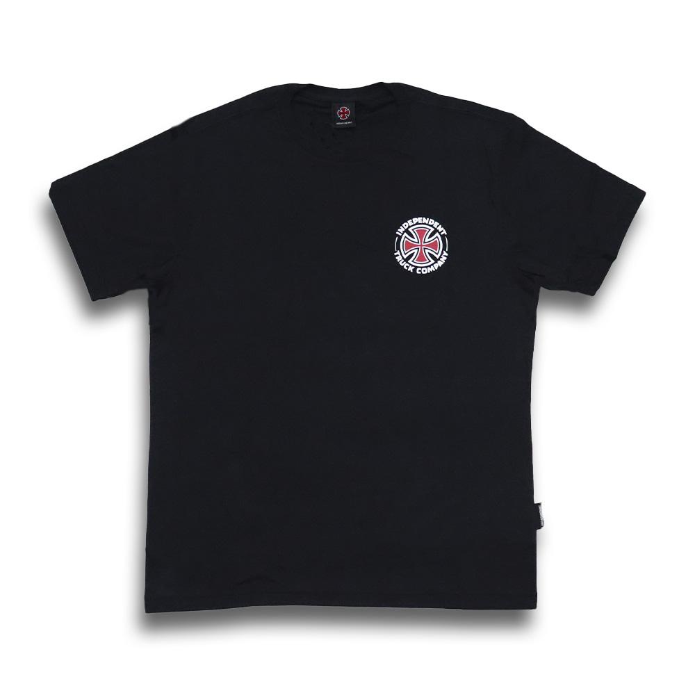 Camiseta Independent Repeat Cross - Preto