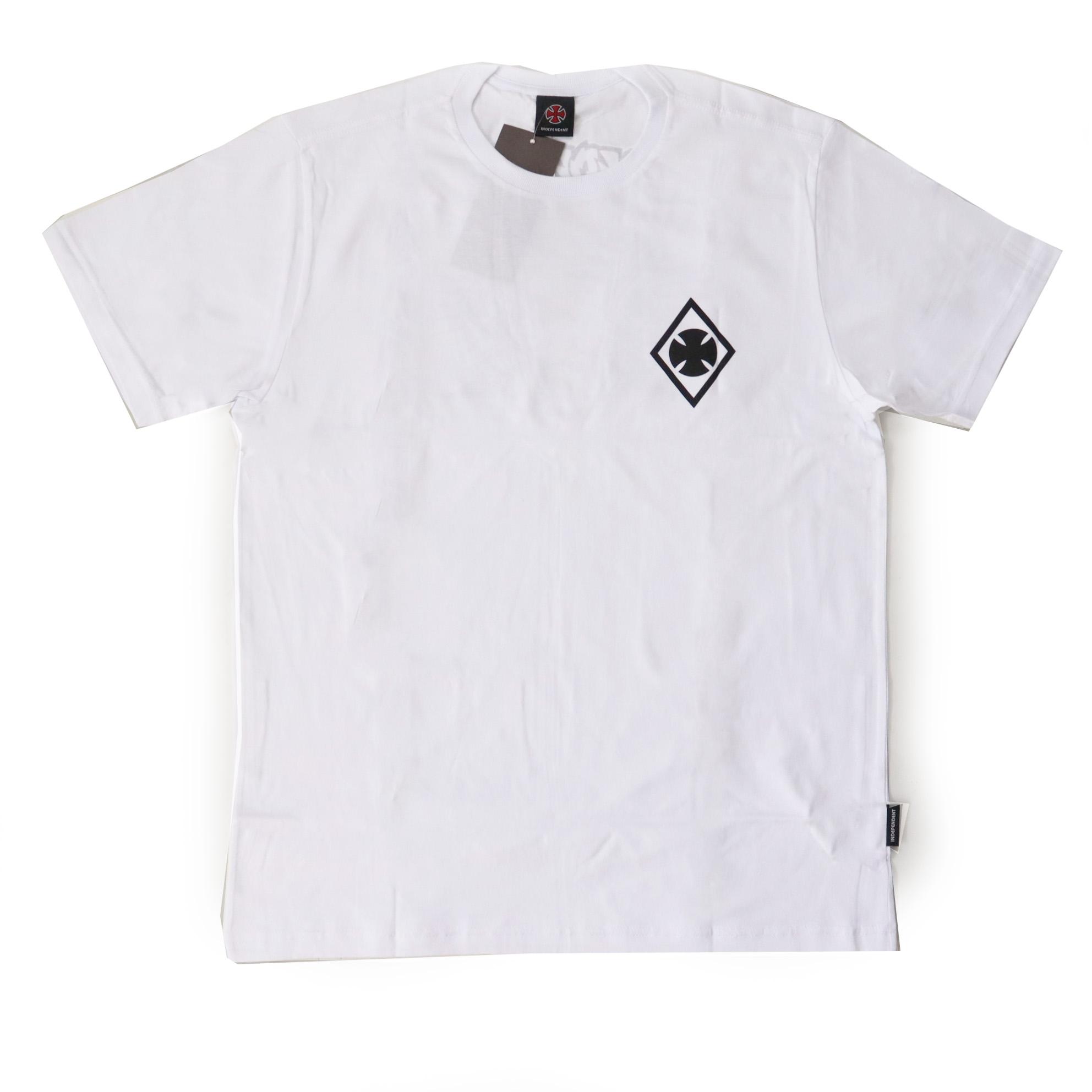 Camiseta Independent Ripped - Branco
