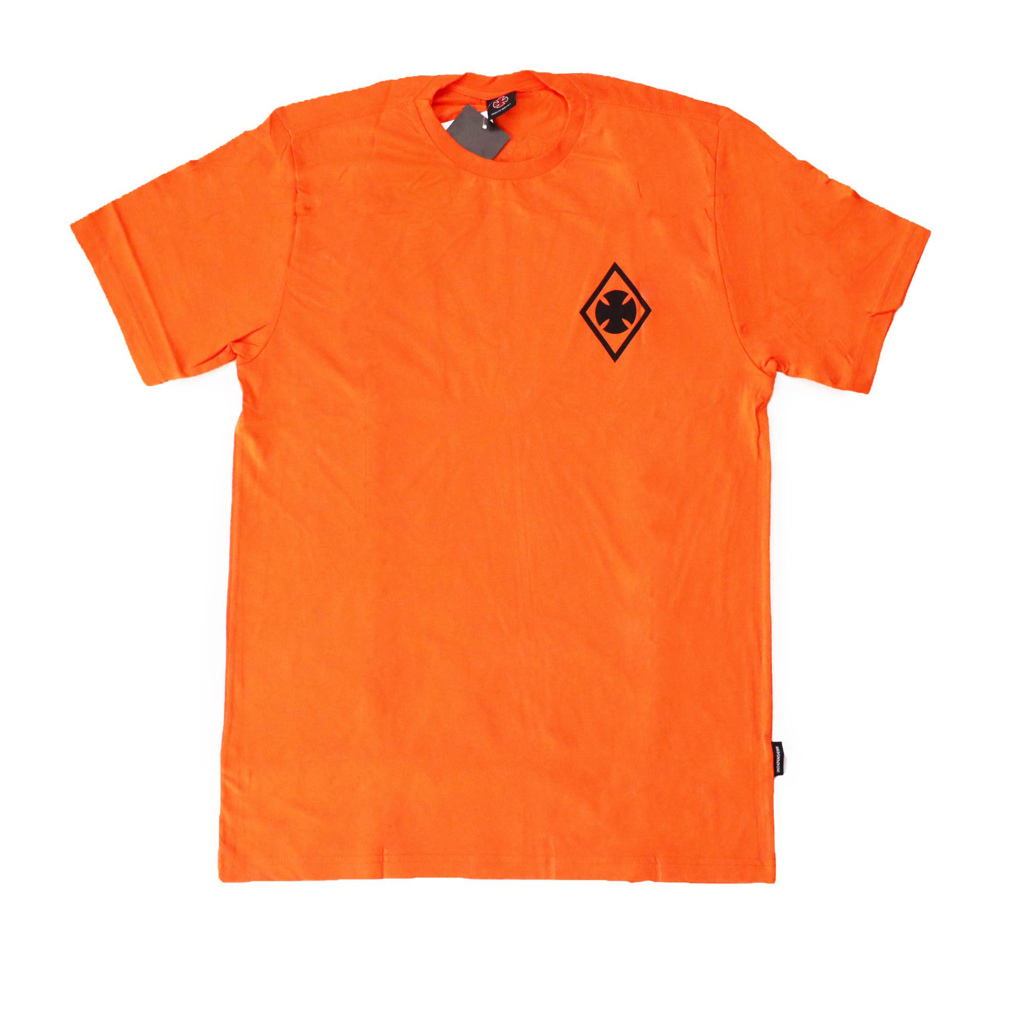 Camiseta Independent Ripped - Laranja