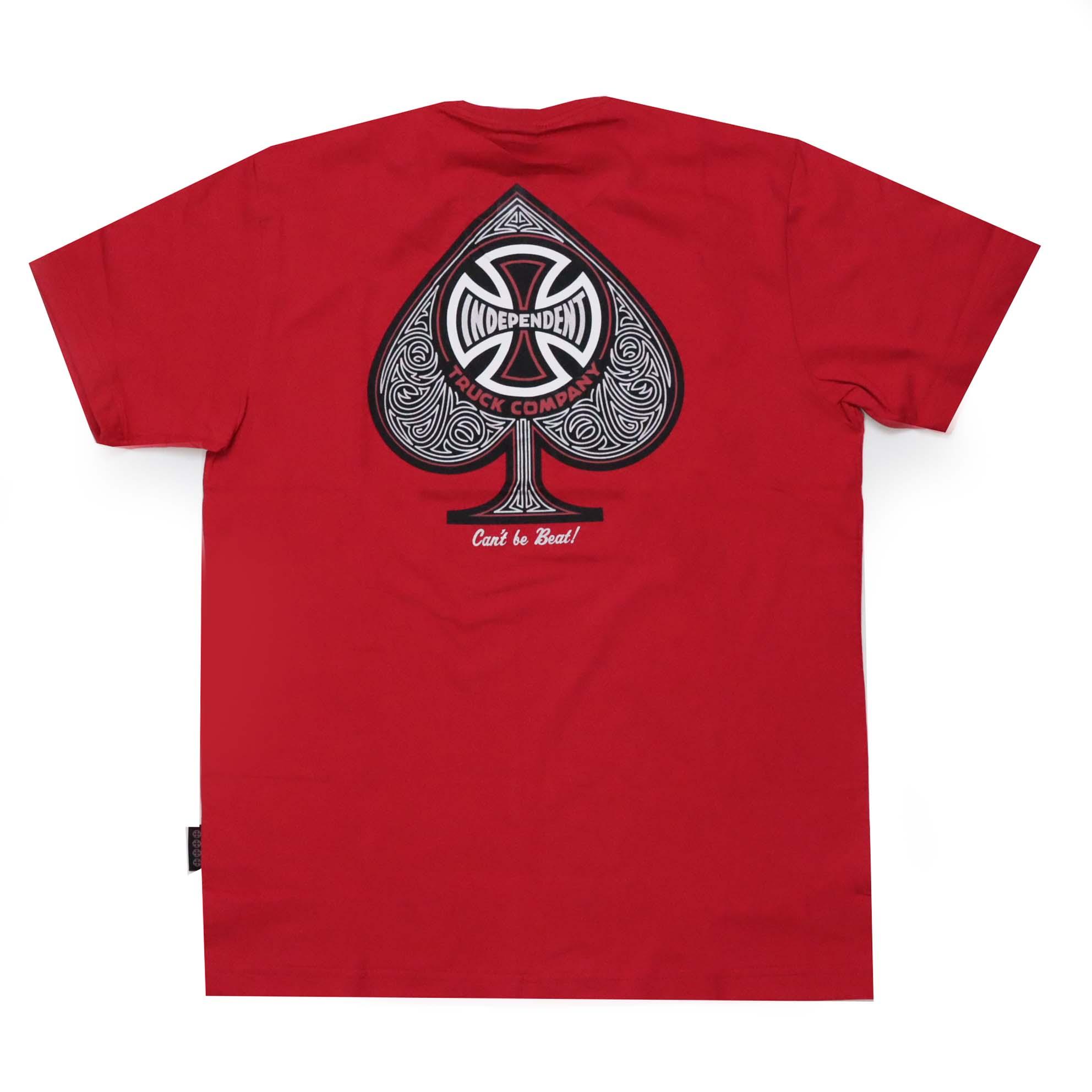 Camiseta Independent TC Spade - Vermelho