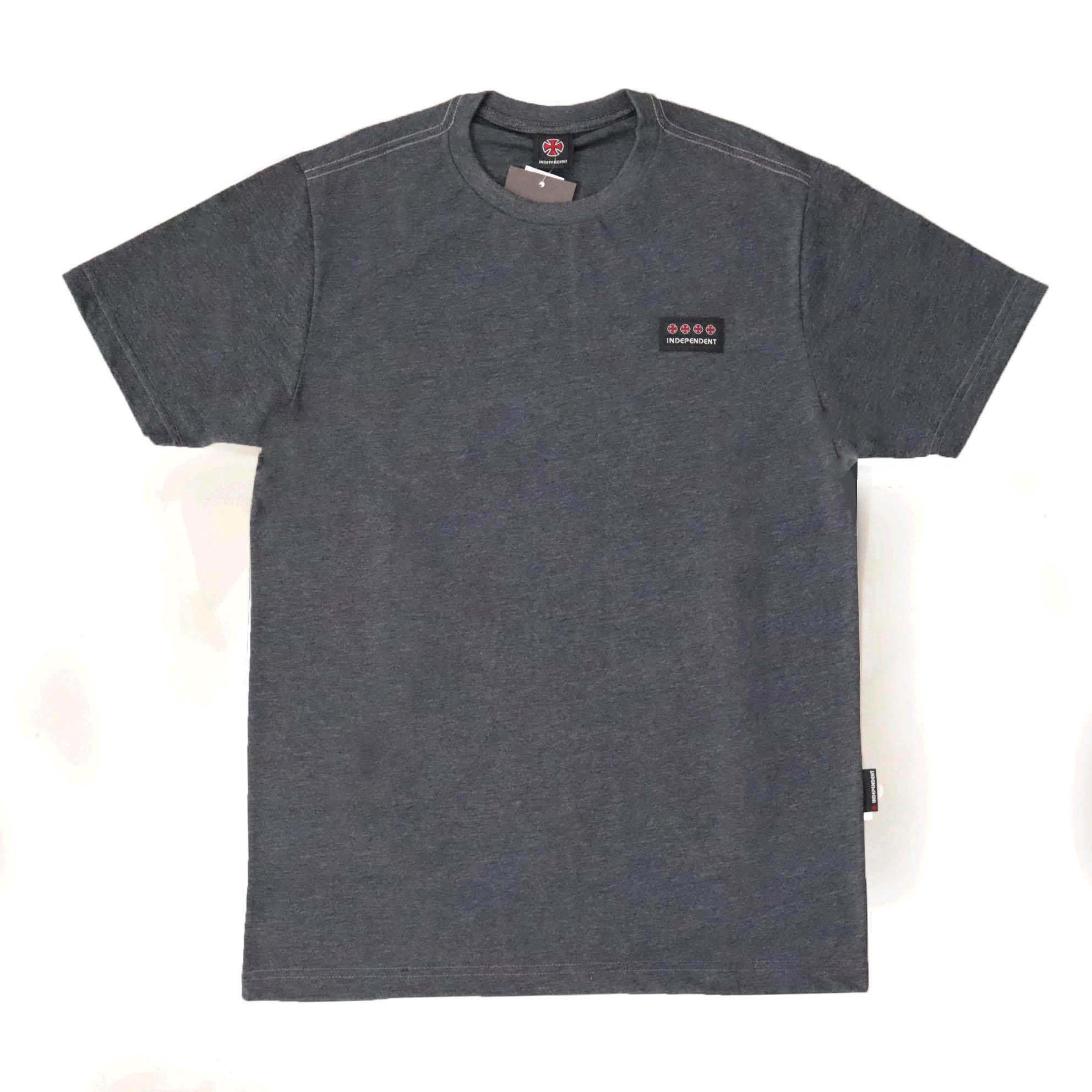 Camiseta Independent Tonal Crosses - Preto Mescla