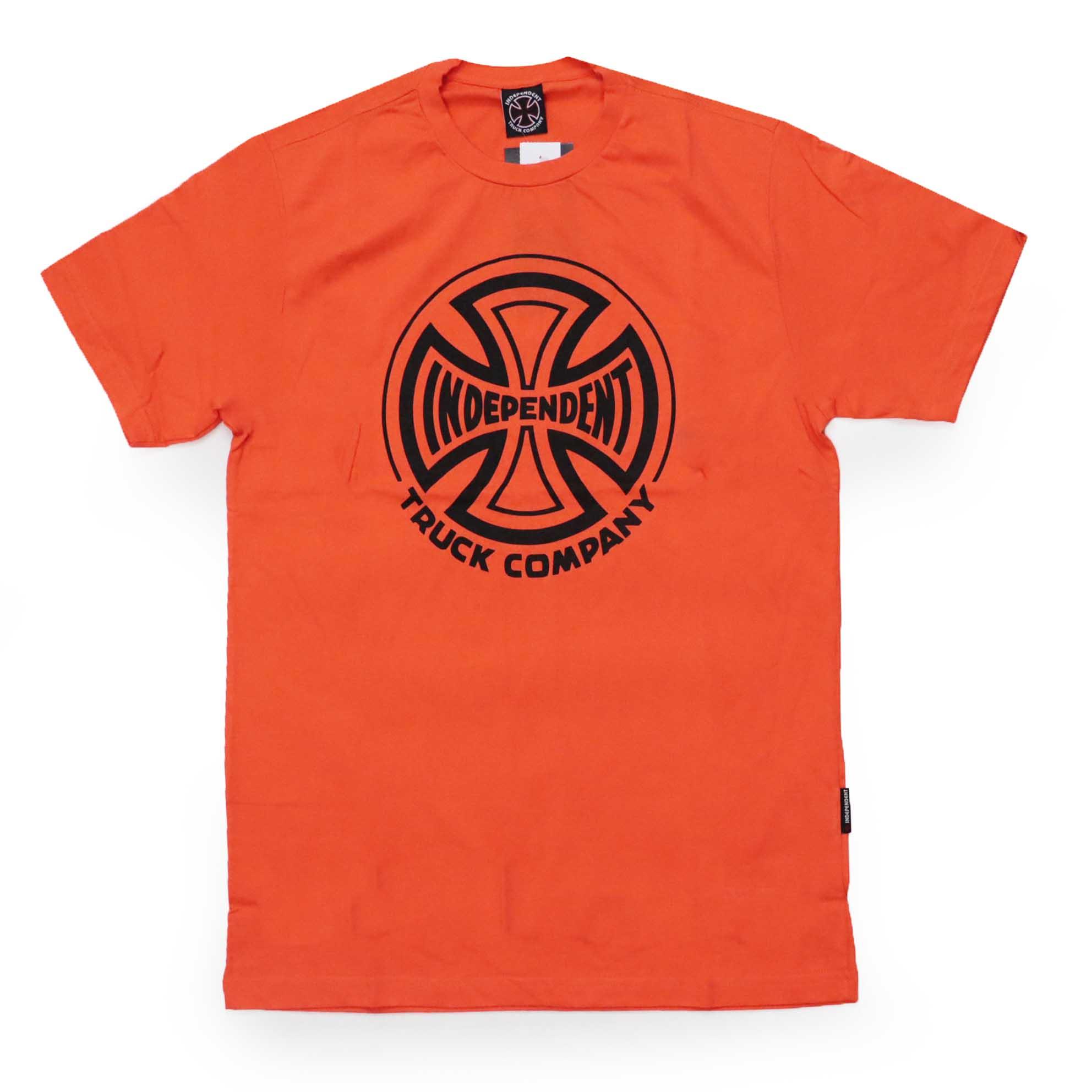 Camiseta Independent Truck Co 1 Color - Laranja