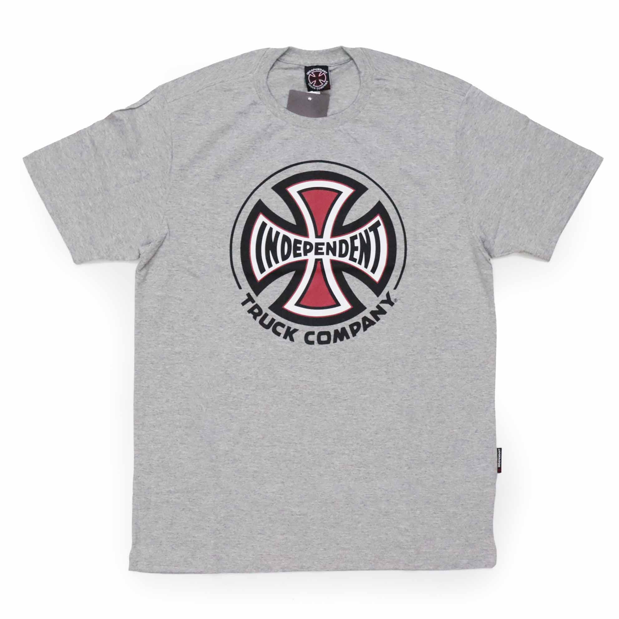 Camiseta Independent Truck Co 3 Colors - Cinza Mescla