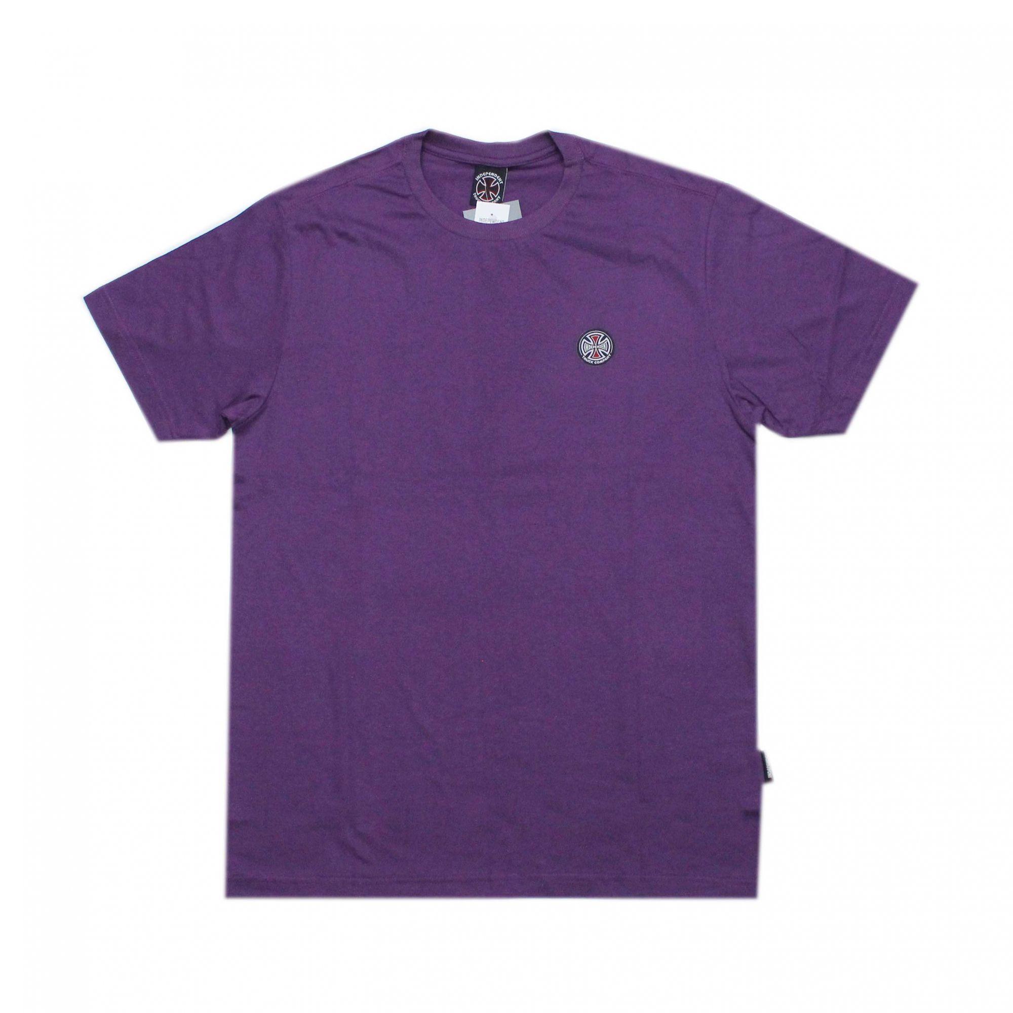 Camiseta Independent Truck Co 3 Colors F/C - Roxo