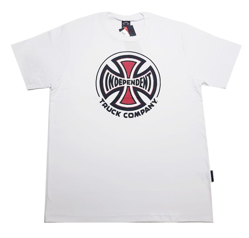 Camiseta Independent Truck Co 3 Colors White
