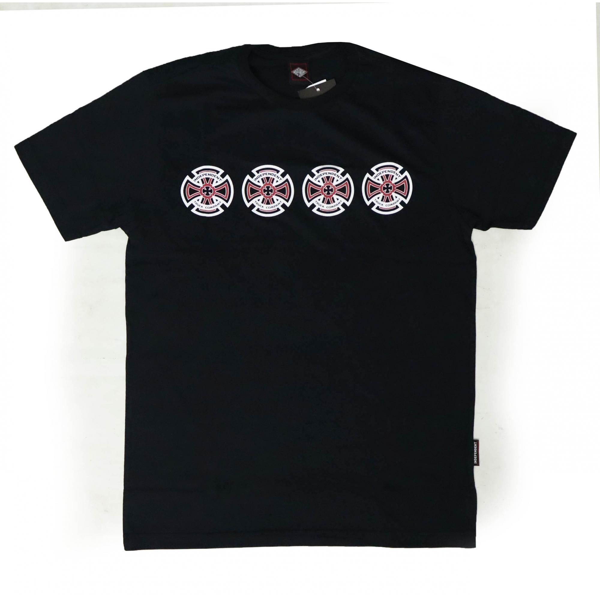 Camiseta Independent Valient - Preto