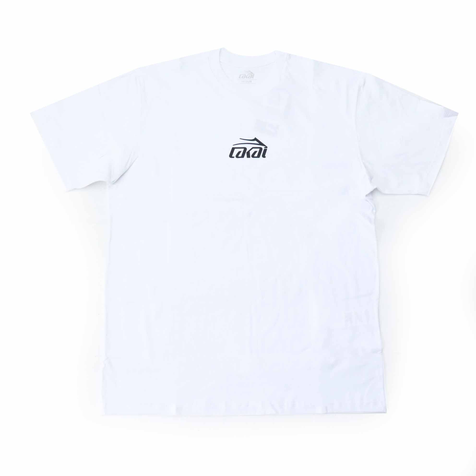 Camiseta Lakai Basic Sintetic - Branco