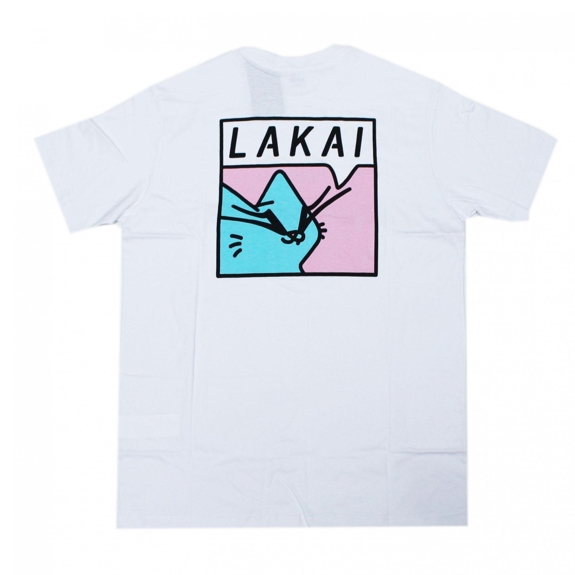 Camiseta Lakai Blue Cat Branco