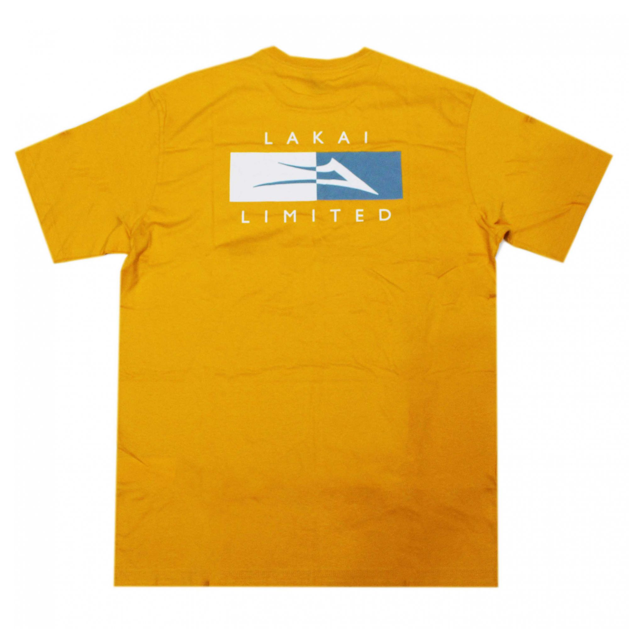 Camiseta Lakai Divergence Amarelo Gold