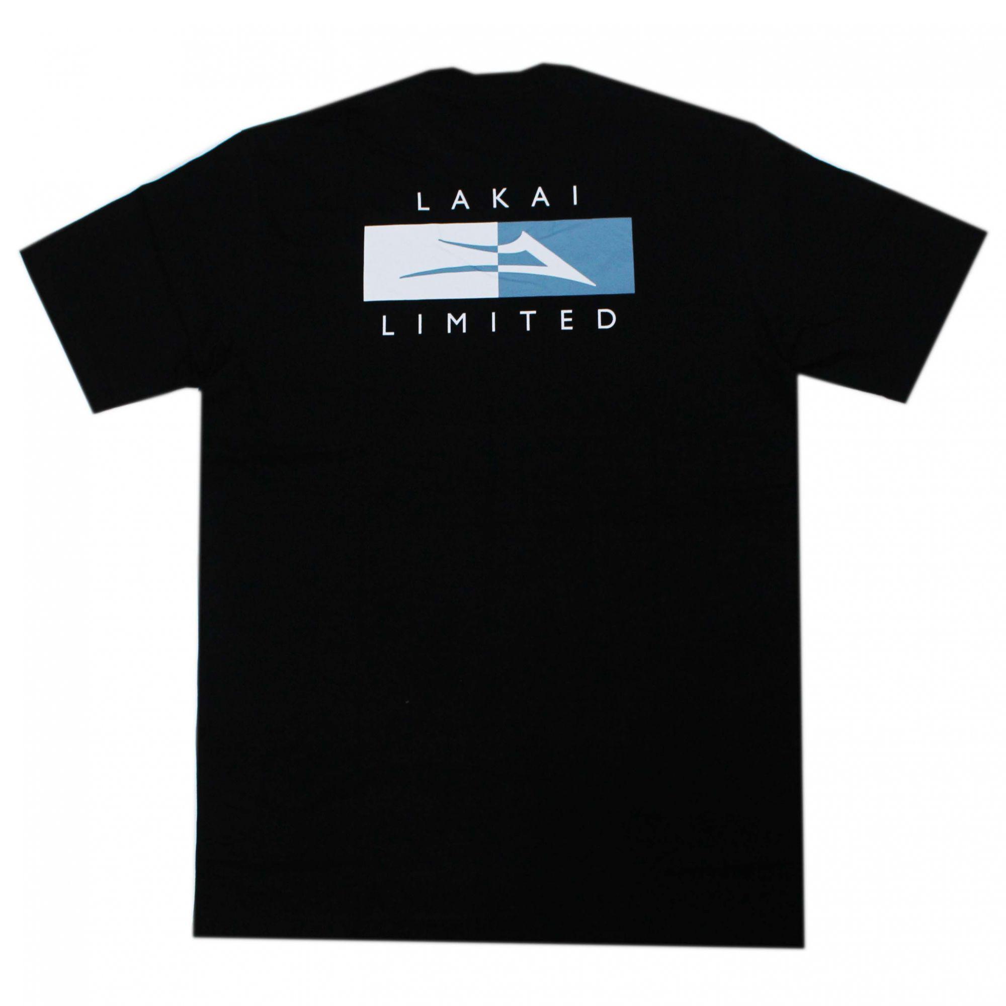 Camiseta Lakai Divergence Preto