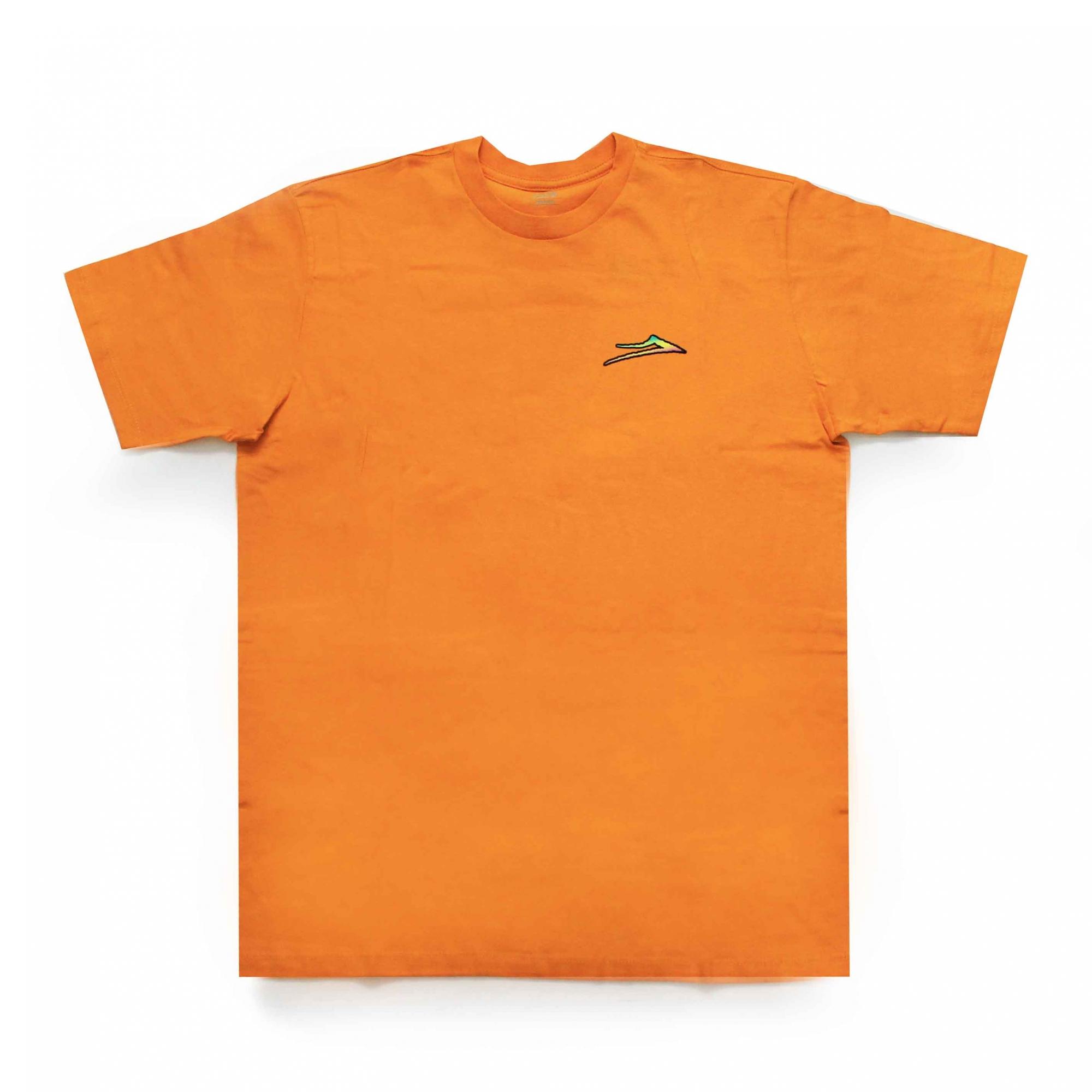 Camiseta Lakai Fade - Laranja
