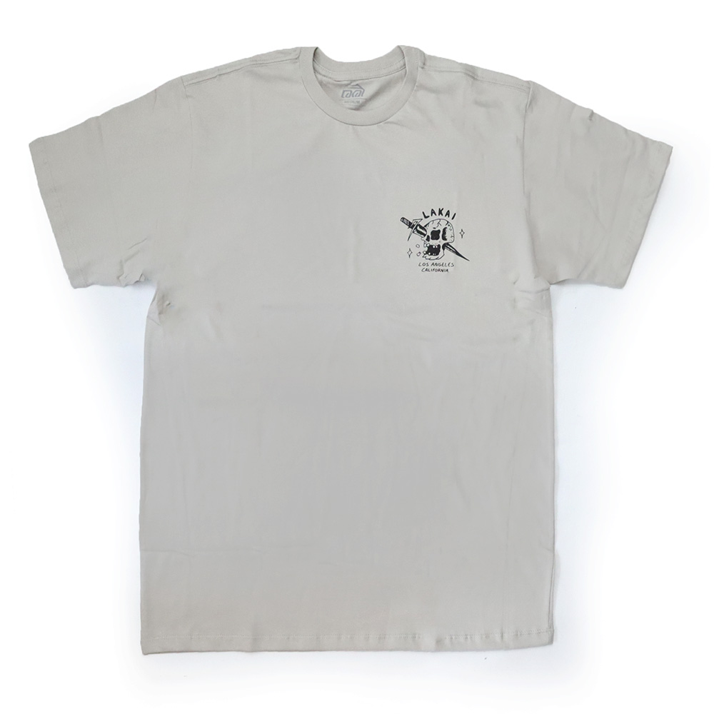 Camiseta Lakai Skull - Cinza